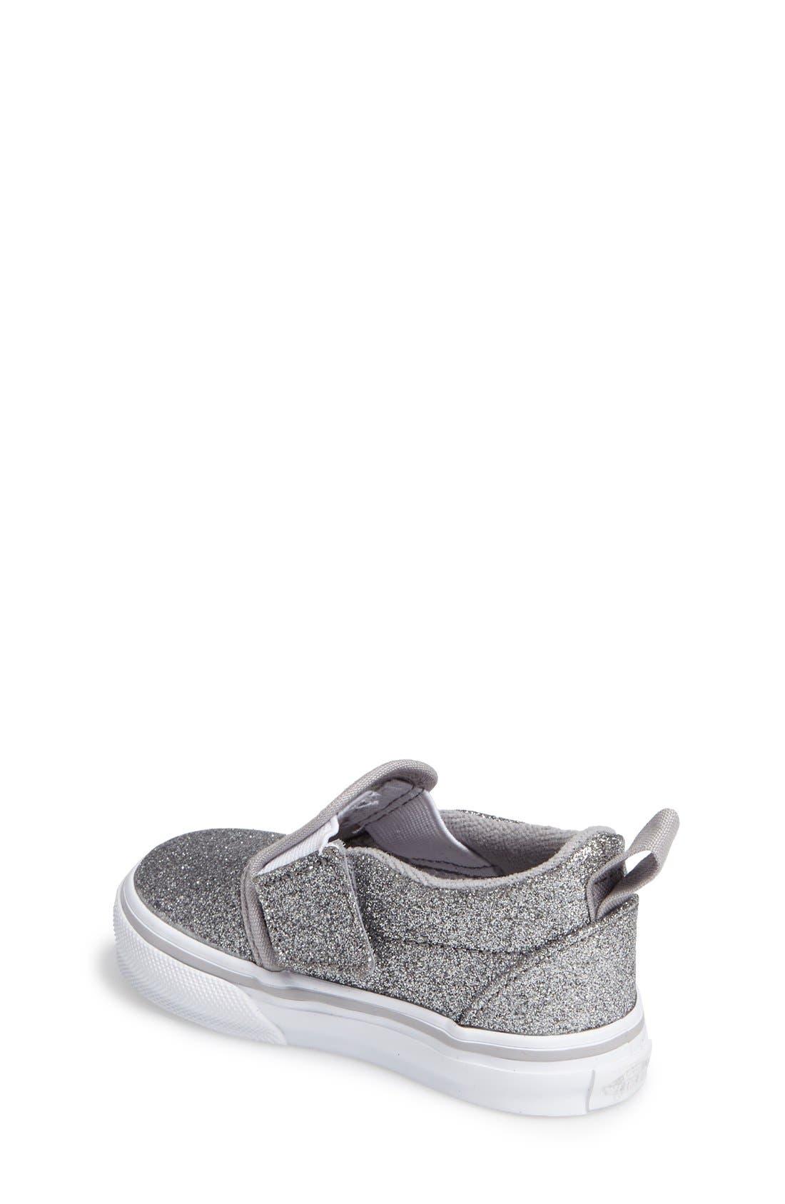 Classic Slip-On V Sneaker,                             Alternate thumbnail 8, color,