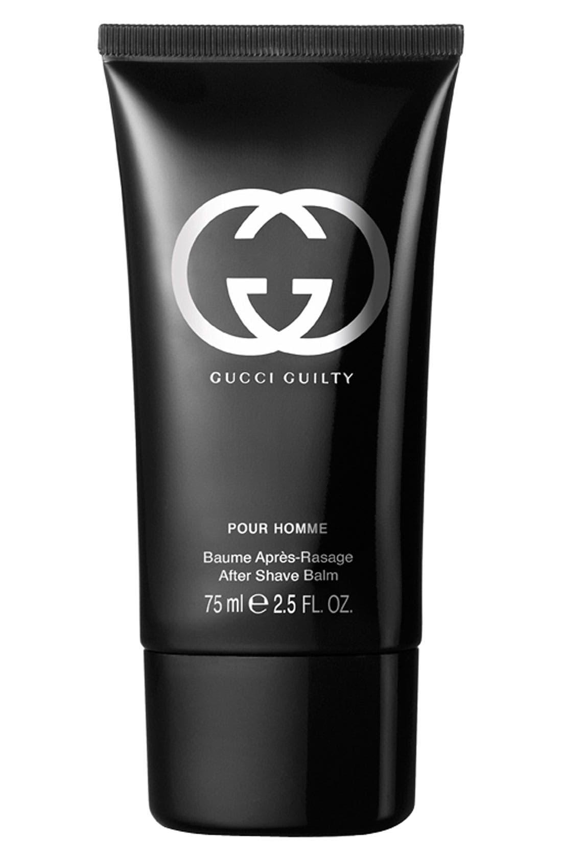 Gucci 'Guilty pour Homme' After Shave Balm,                         Main,                         color, 000