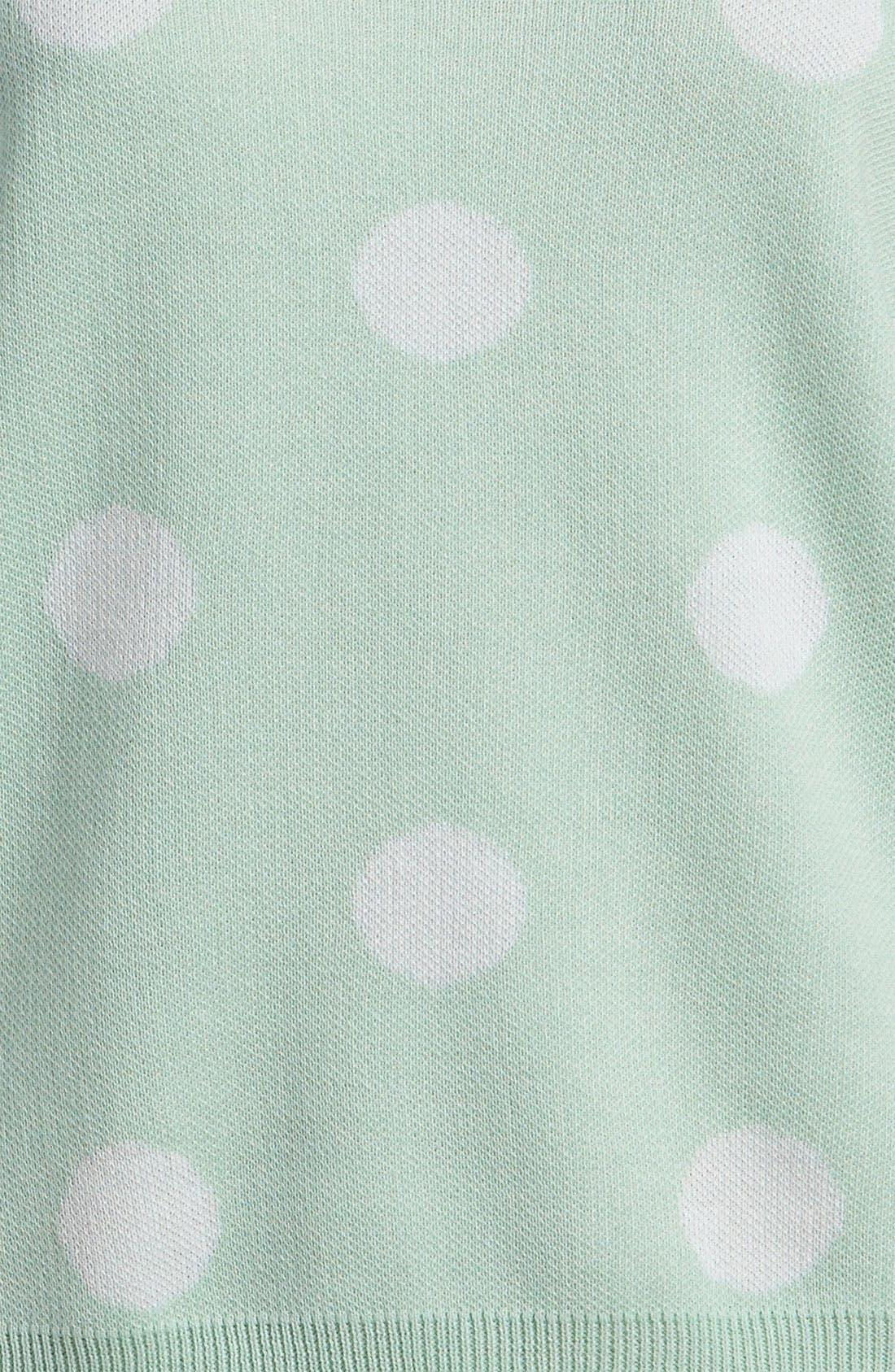 Polka Dot Sweater,                             Alternate thumbnail 2, color,                             442