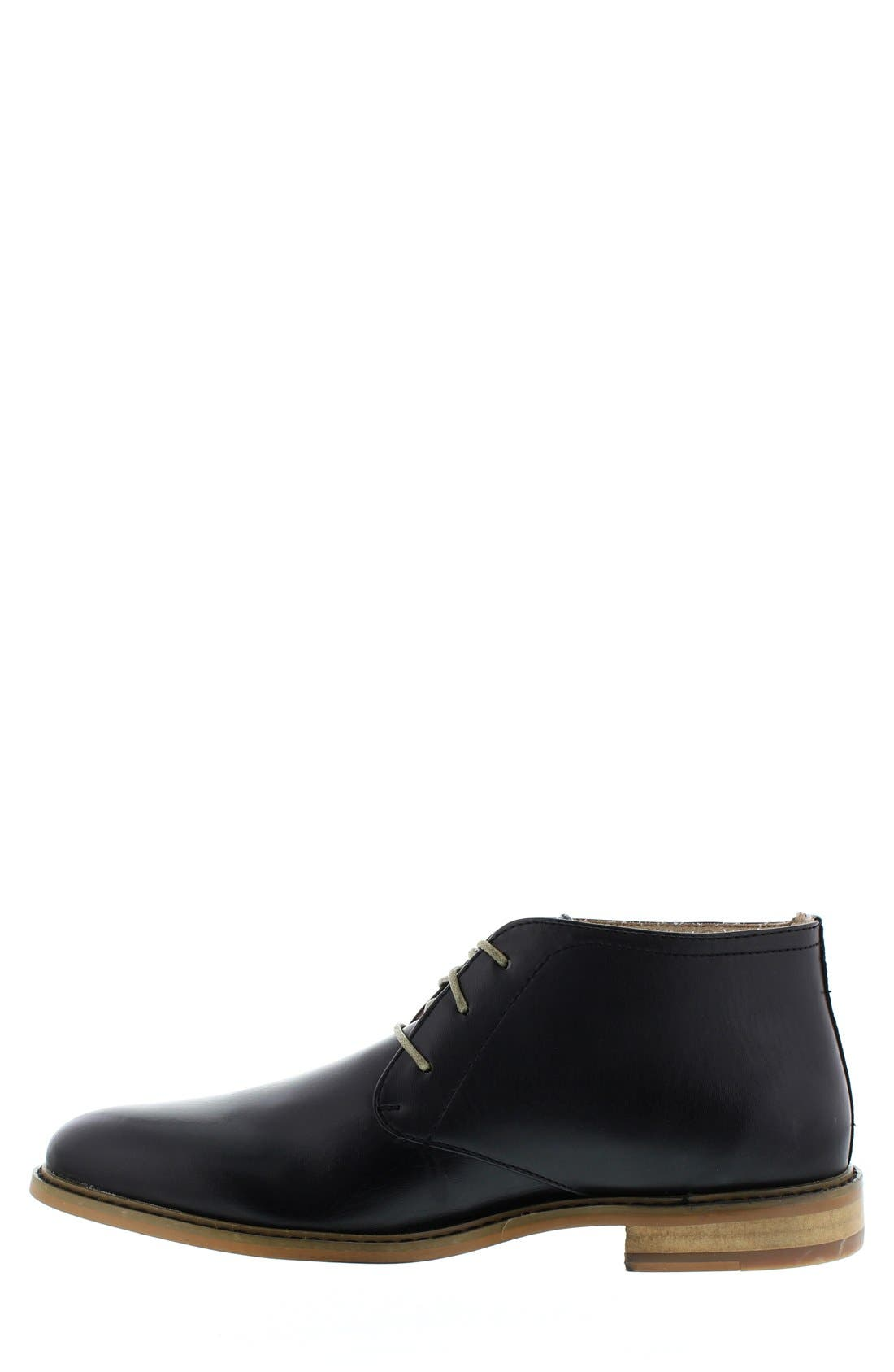 DEER STAGS,                             'Seattle' Leather Chukka Boot,                             Alternate thumbnail 2, color,                             001
