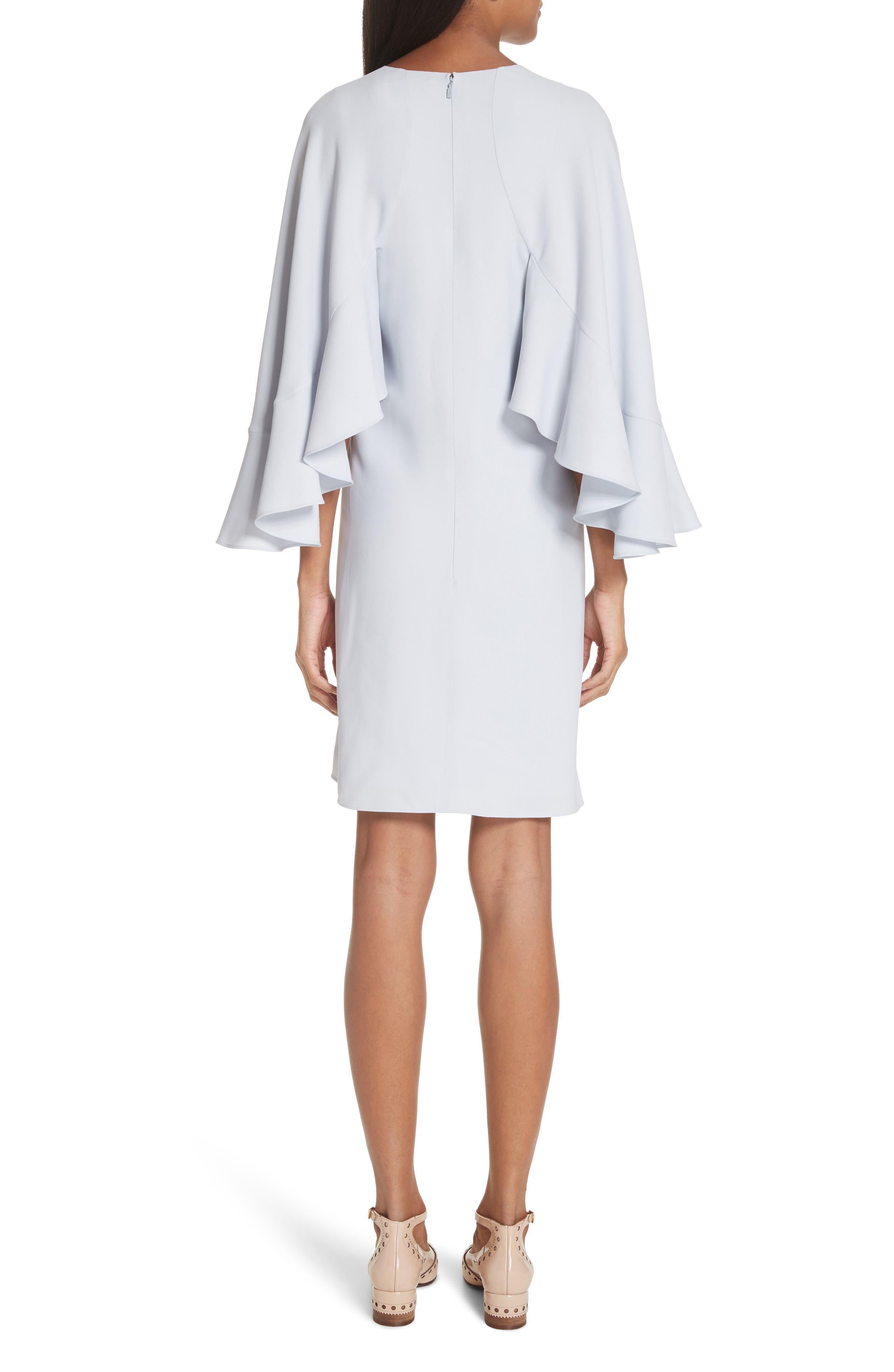 Flutter Sleece Cady Shift Dress,                             Alternate thumbnail 2, color,                             450