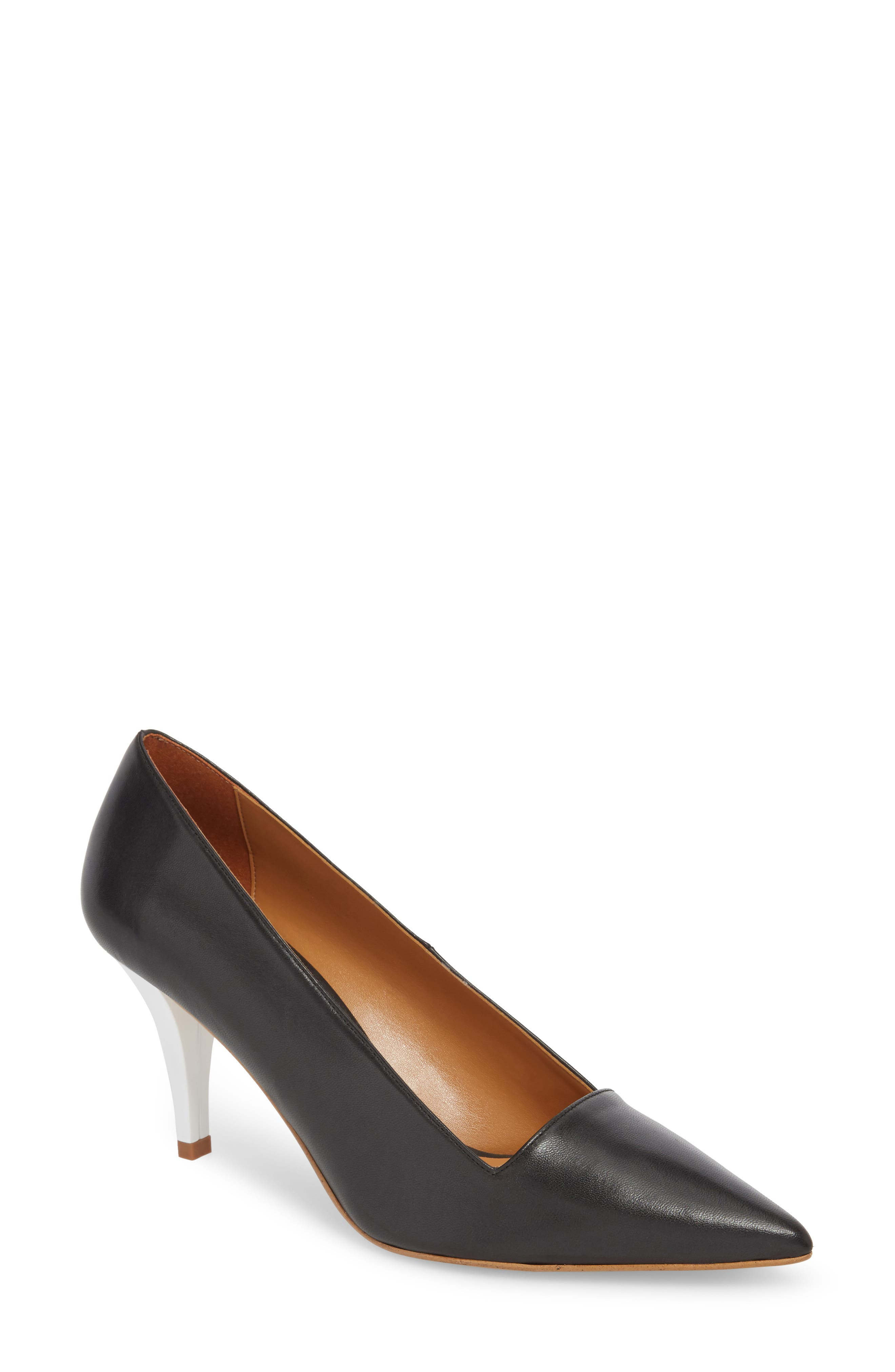 Jubilee Pointy Toe Pump,                             Main thumbnail 1, color,                             BLACK MULTI