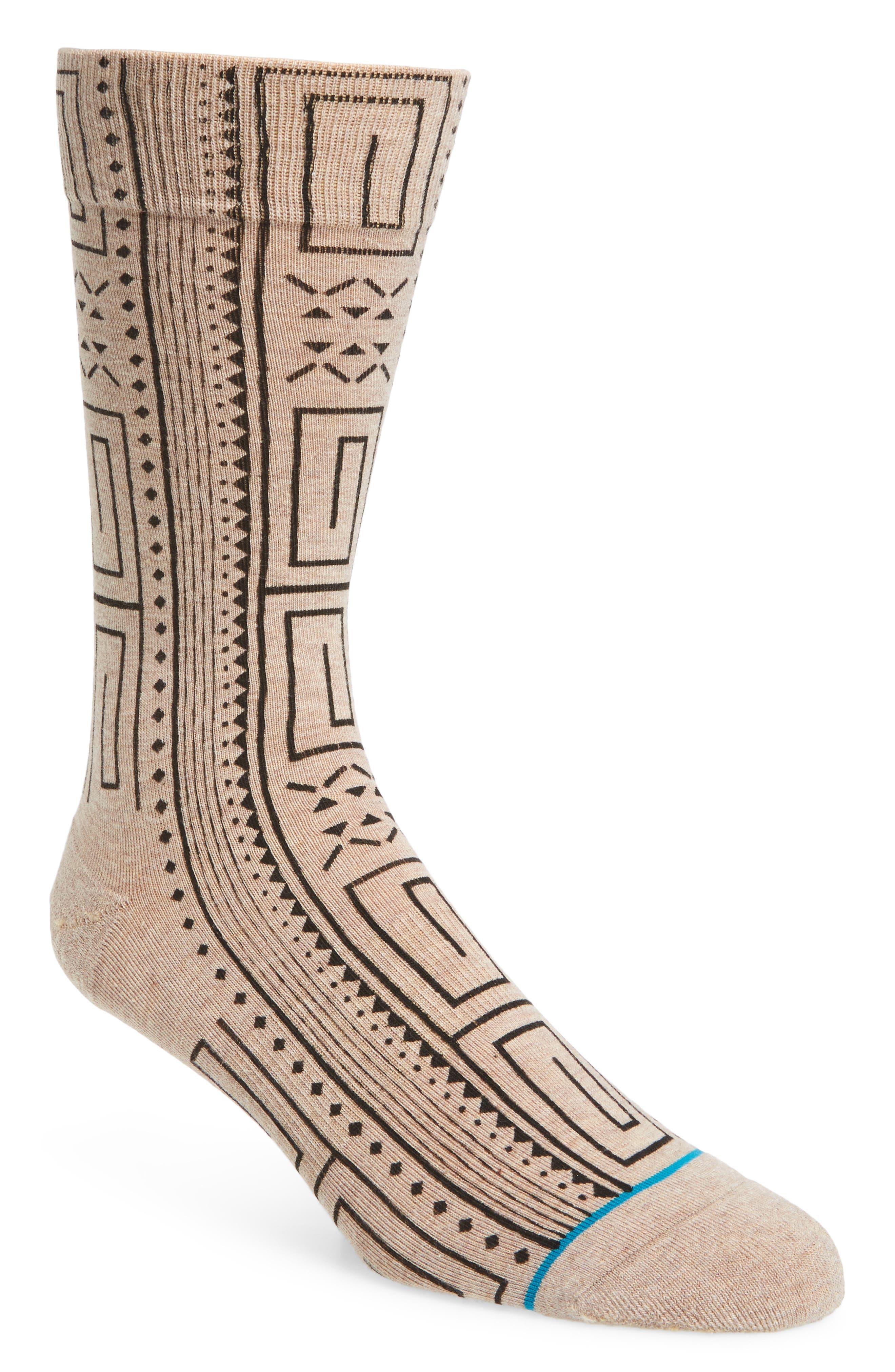 Geometric Socks,                         Main,                         color, 200