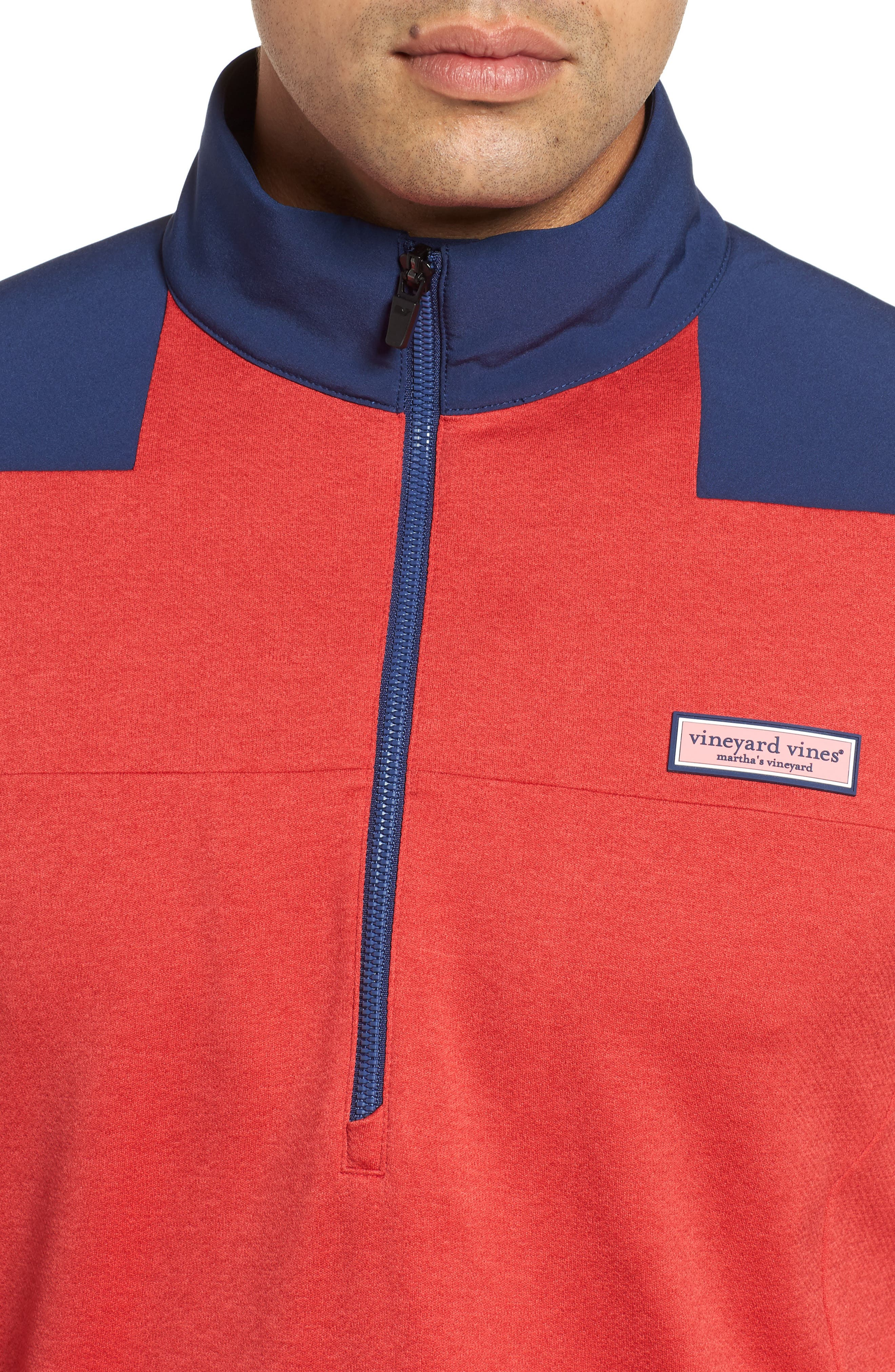 Performance Quarter Zip Pullover,                             Alternate thumbnail 11, color,