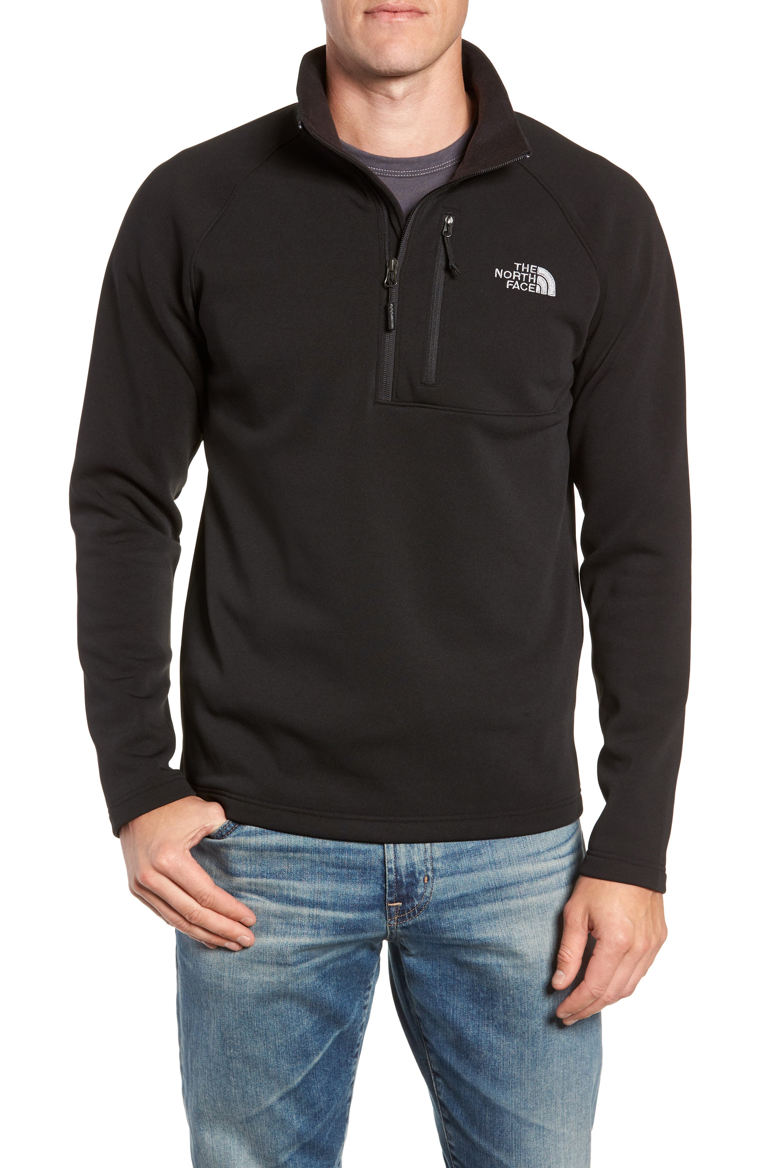 THE NORTH FACE Tenacious Quarter Zip Pullover, Main, color, 001