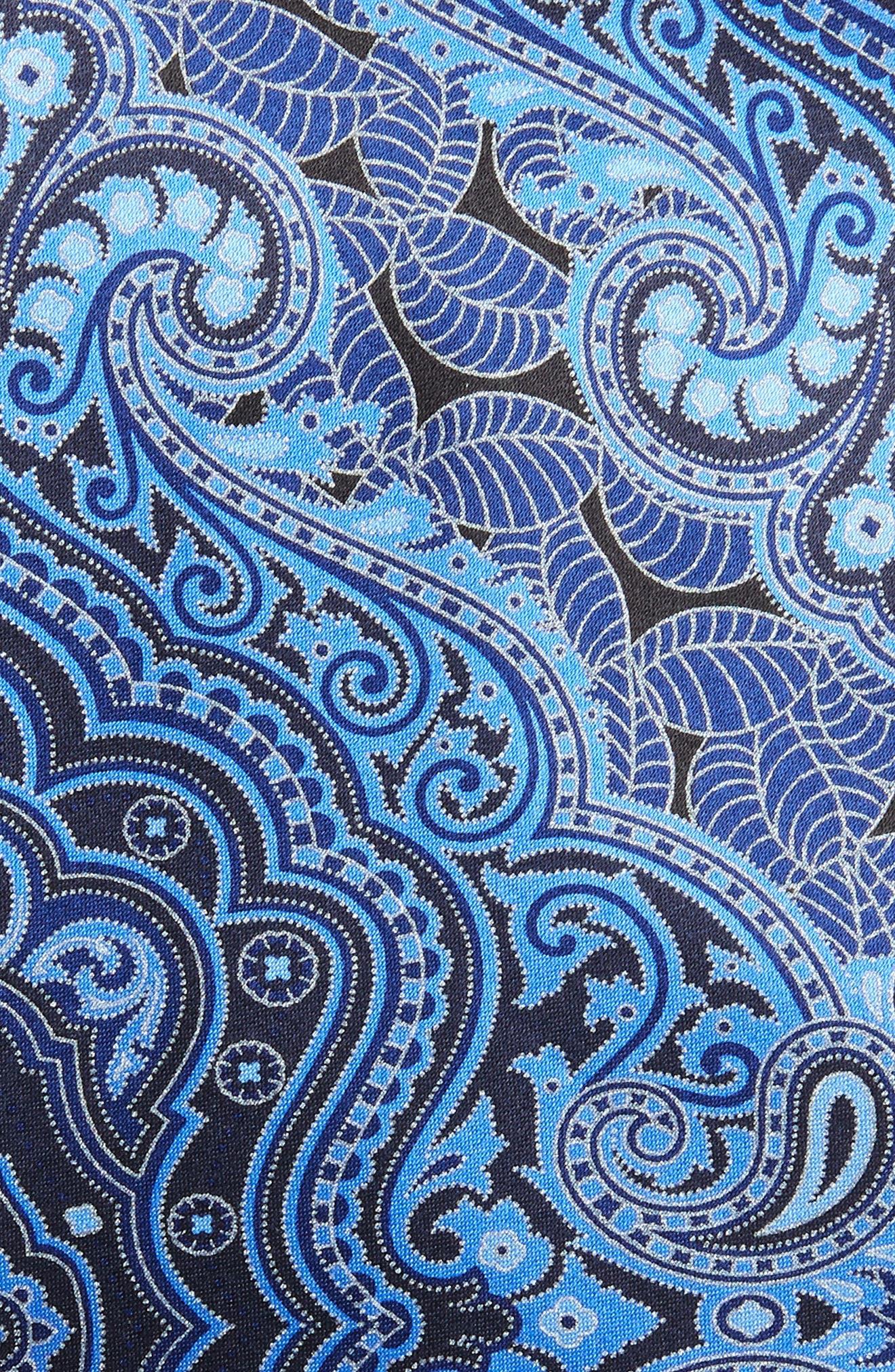 Paisley Silk Tie,                             Alternate thumbnail 3, color,
