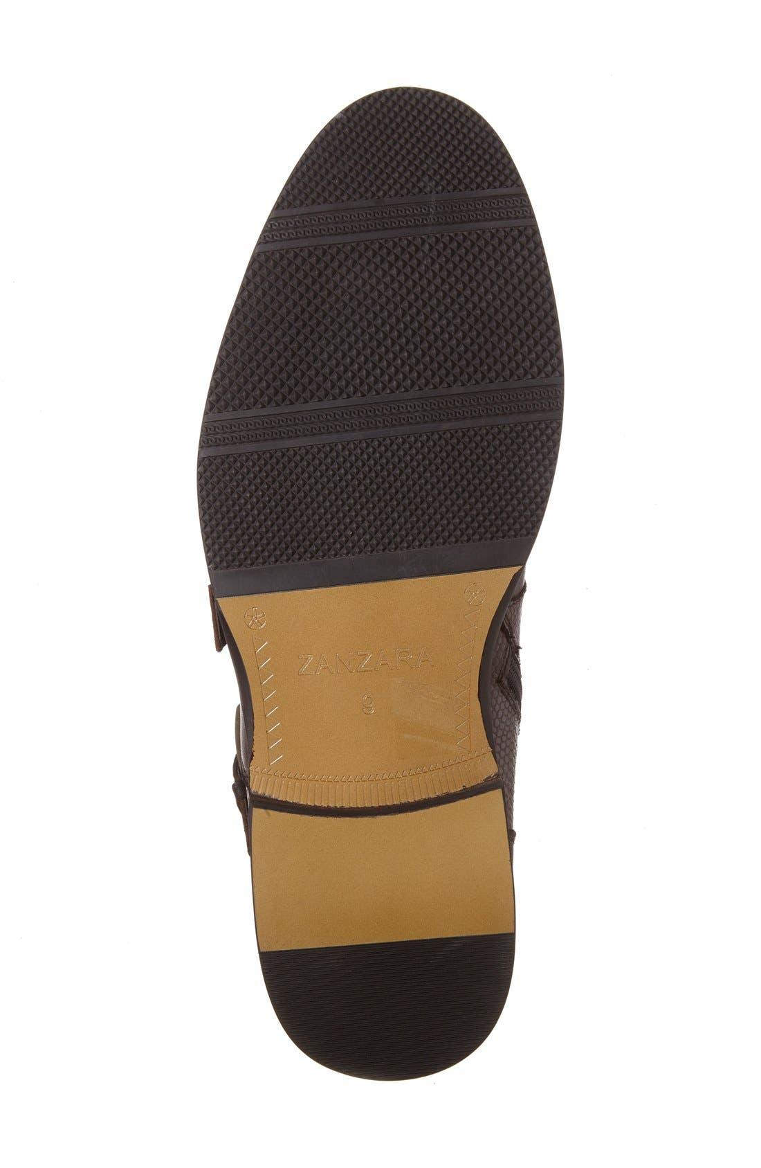'Messina' Zip Boot,                             Alternate thumbnail 8, color,