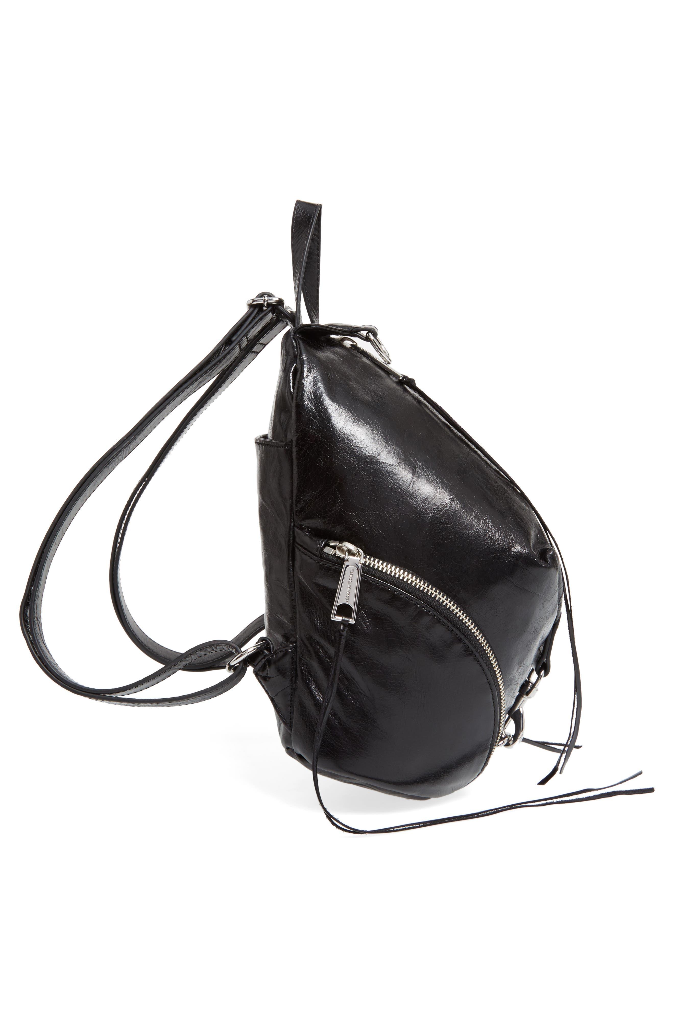 Medium Julian Leather Backpack,                             Alternate thumbnail 18, color,