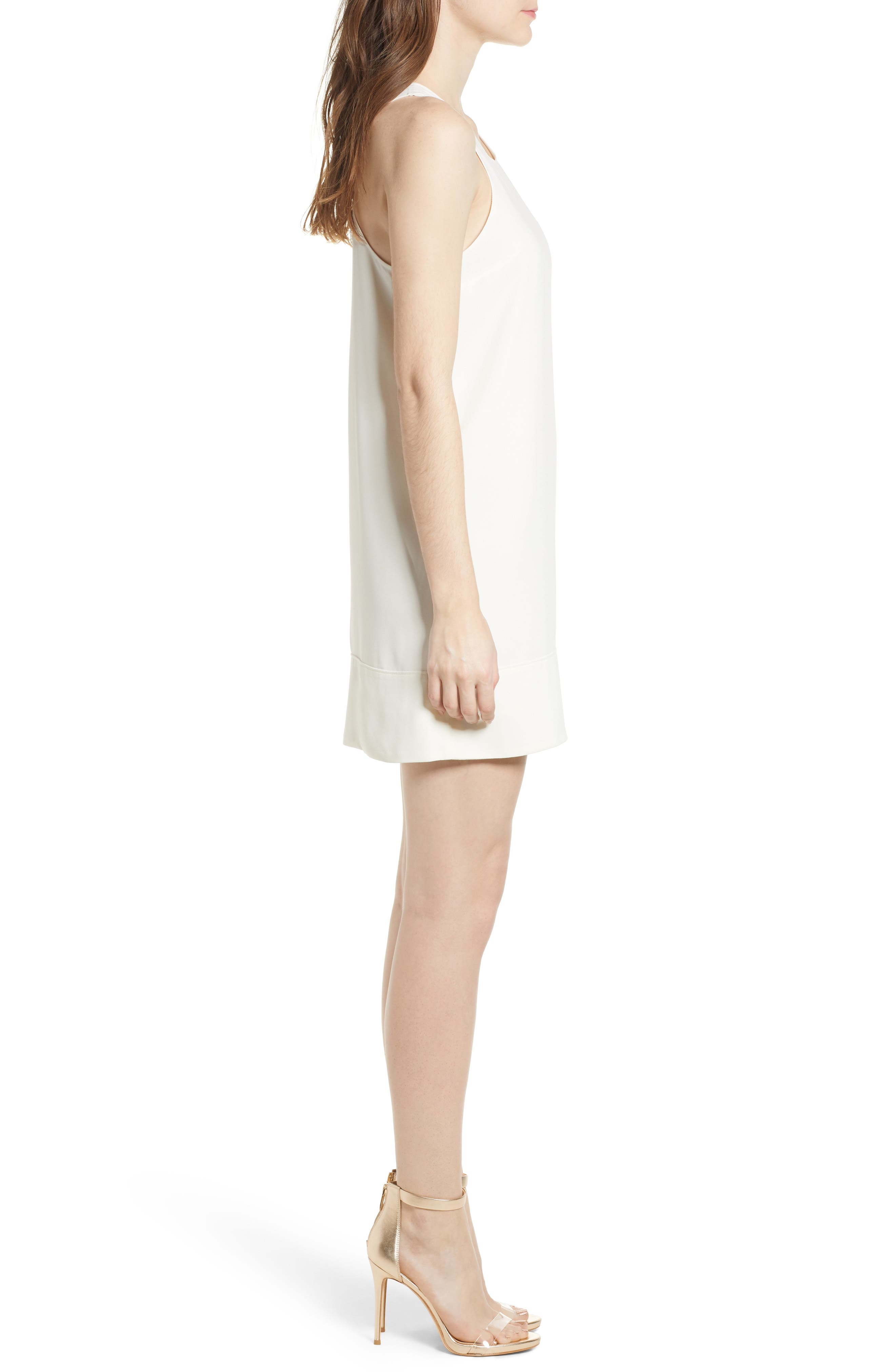 Racerback Shift Dress,                             Alternate thumbnail 105, color,