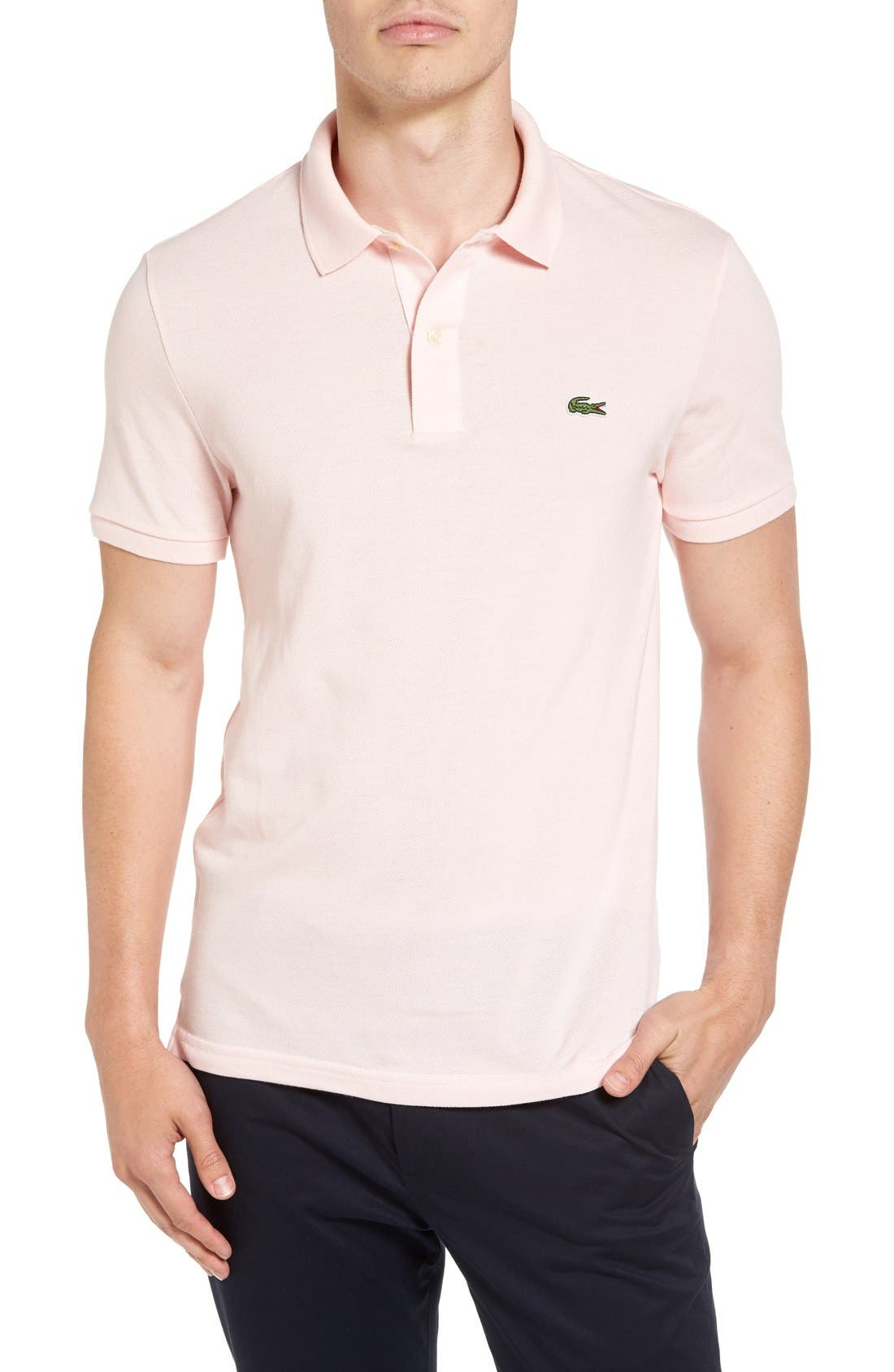 Slim Fit Piqué Polo,                             Main thumbnail 11, color,