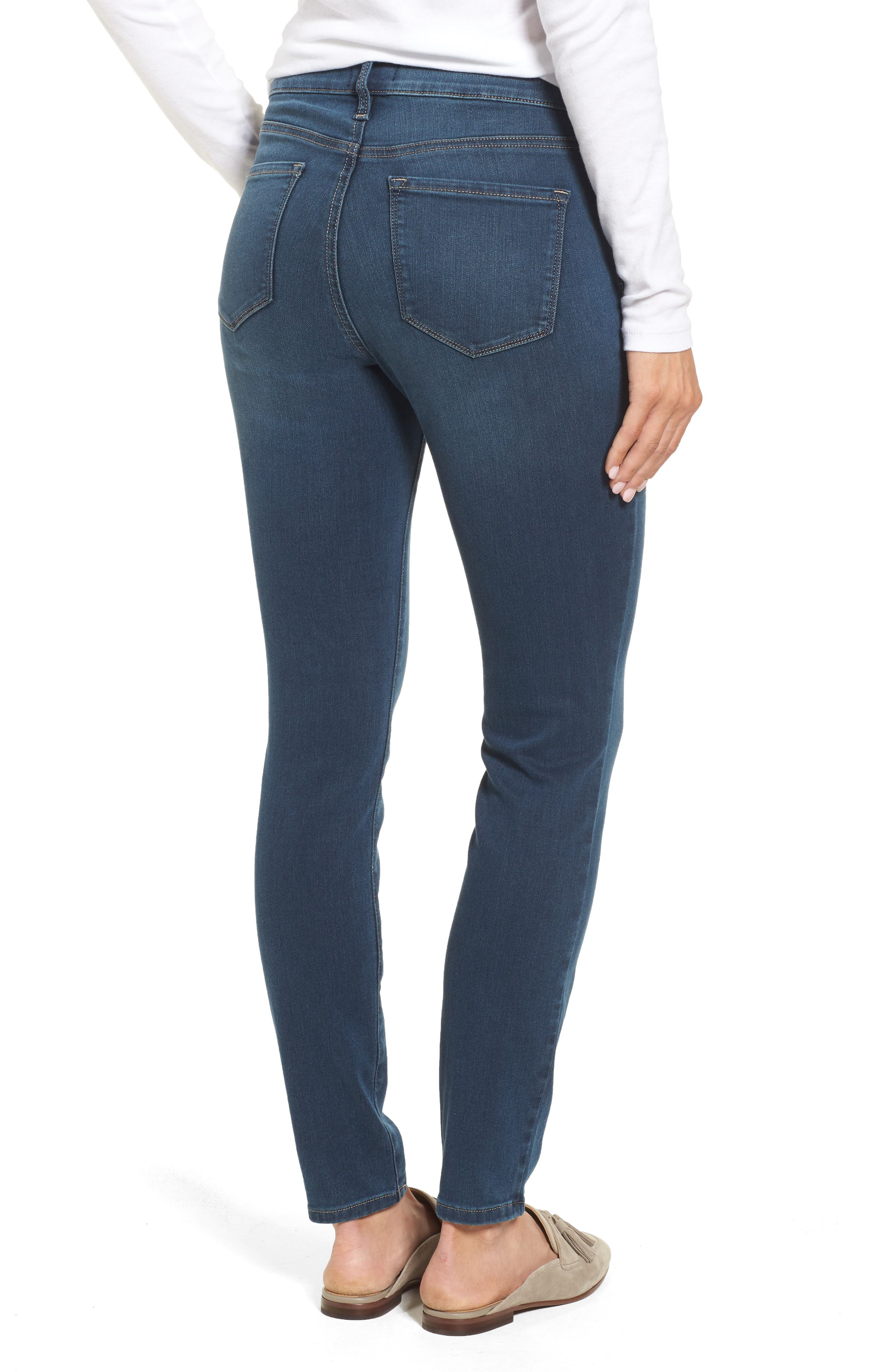 Ami Stretch Super Skinny Jeans,                             Alternate thumbnail 2, color,                             404