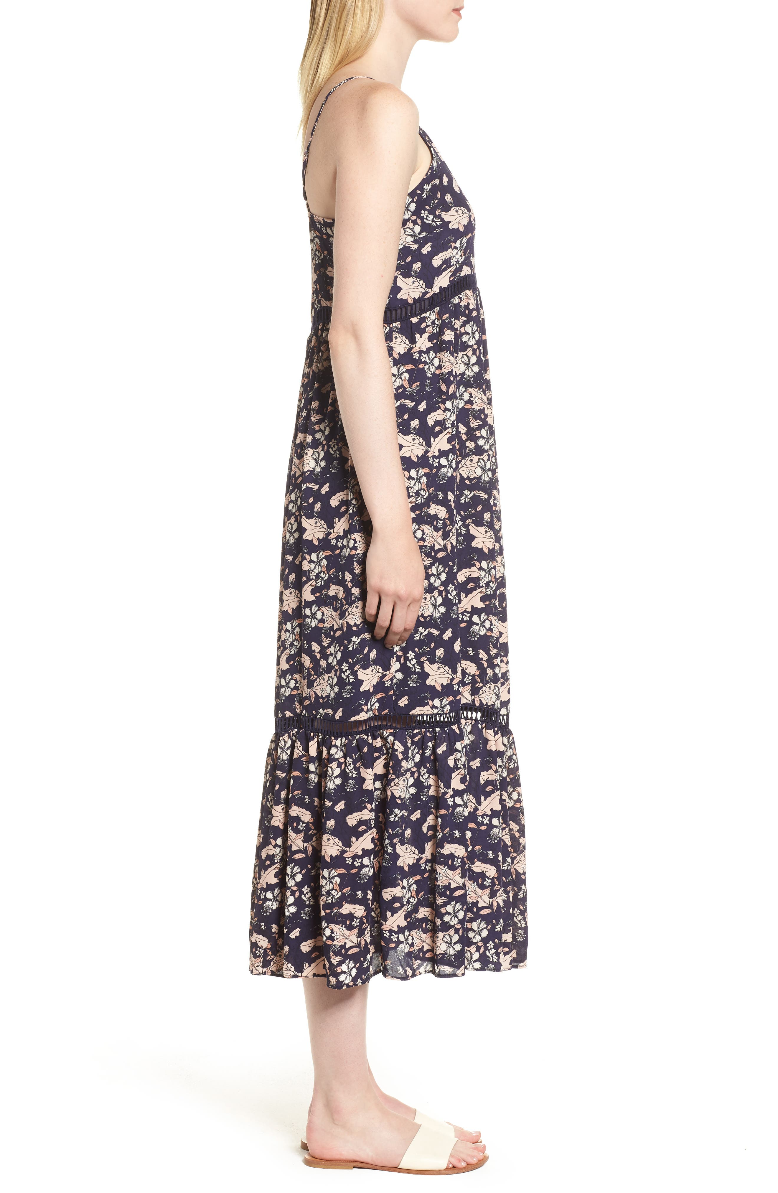 Ivy Forest Maxi Dress,                             Alternate thumbnail 10, color,