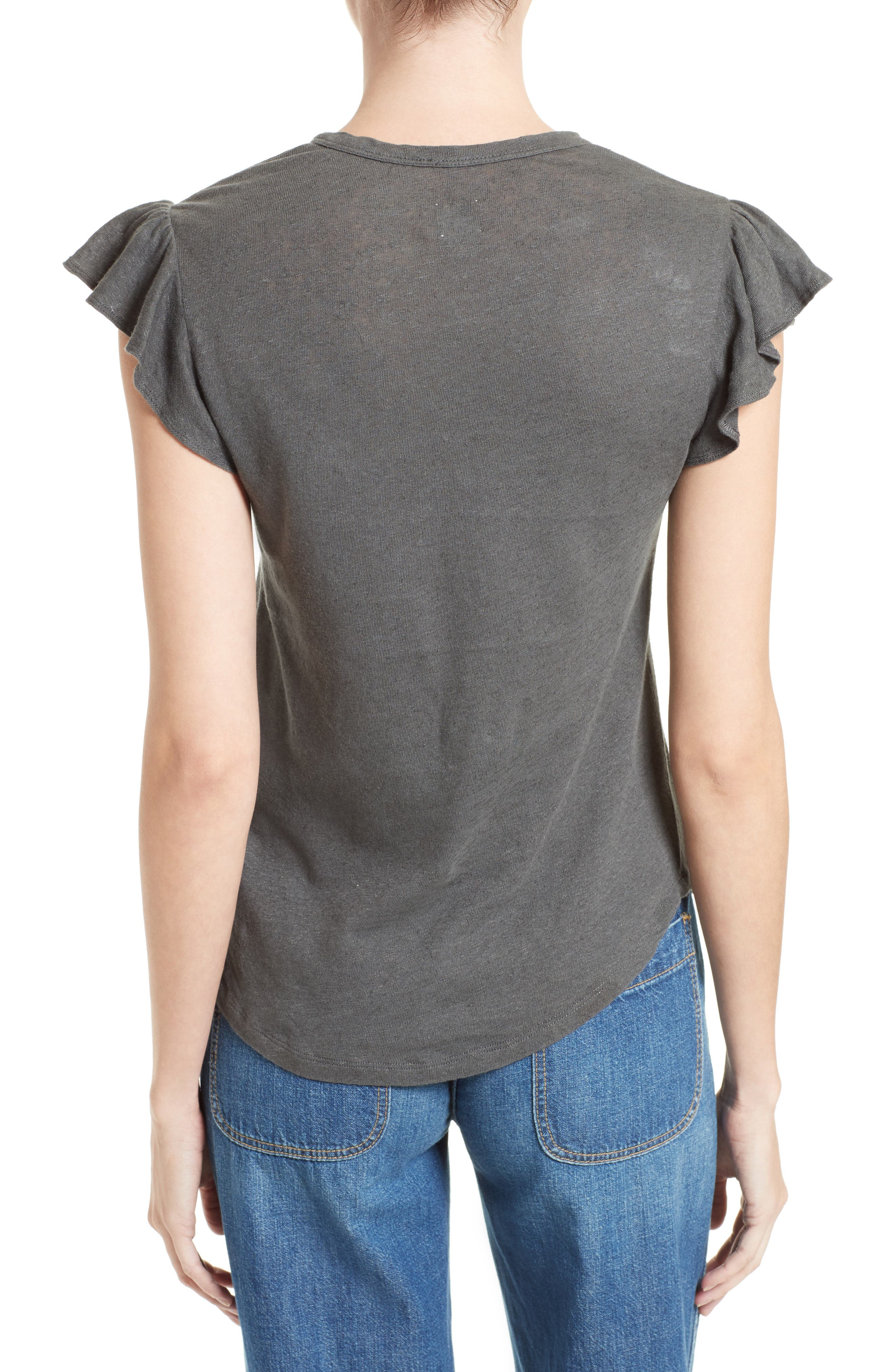 Washed Texture Jersey Tee,                             Alternate thumbnail 14, color,