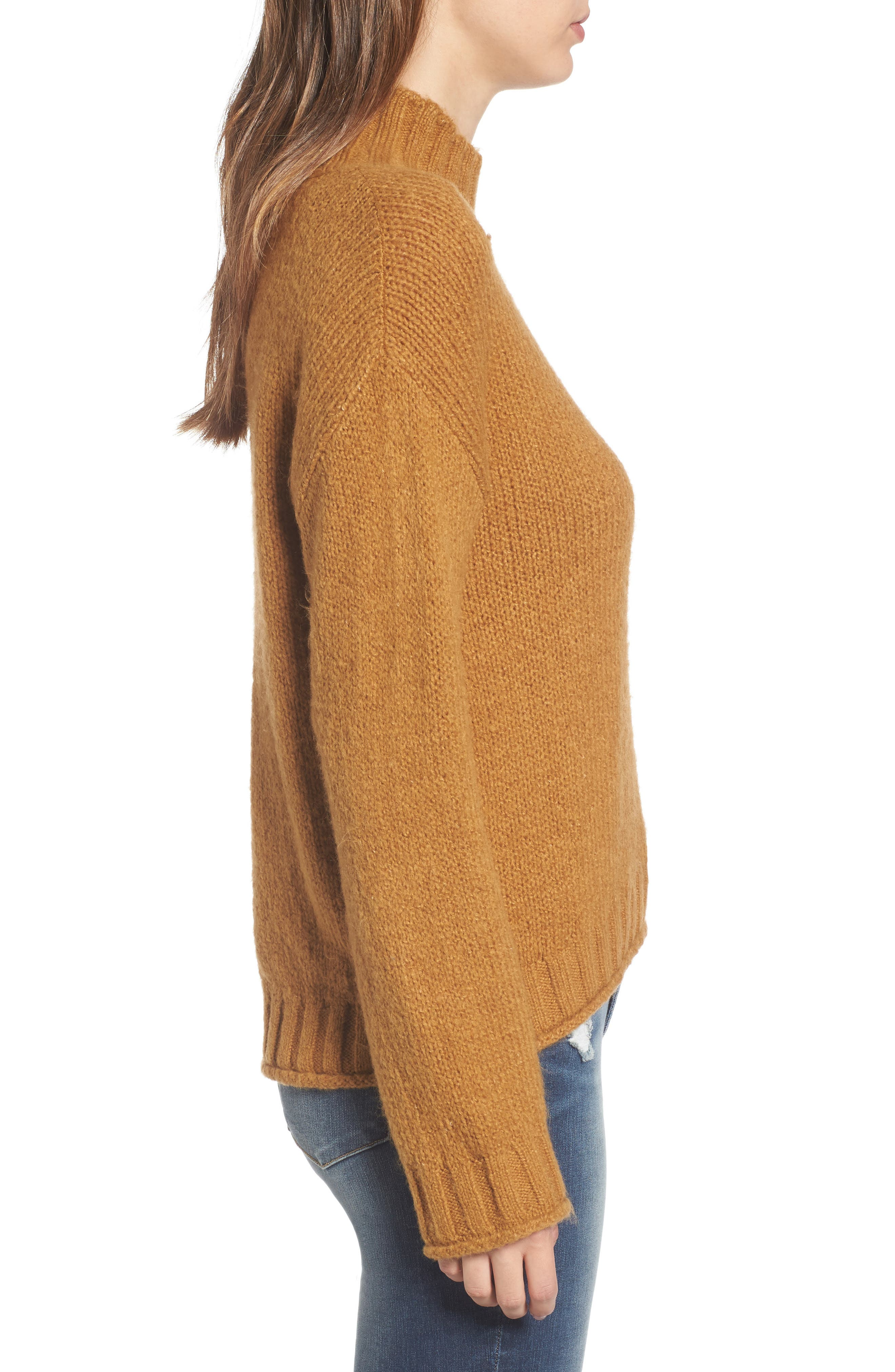 Cozy Mock Neck Sweater,                             Alternate thumbnail 19, color,