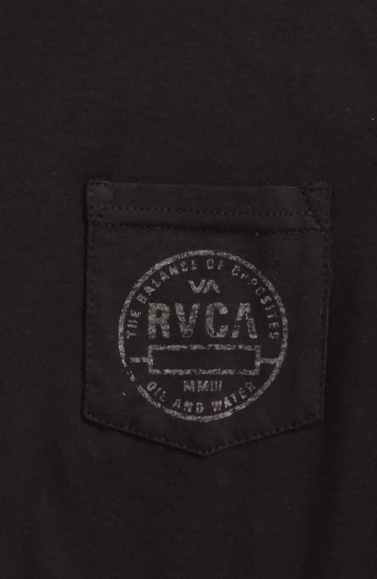 Stamp Pocket T-Shirt,                             Alternate thumbnail 2, color,                             001