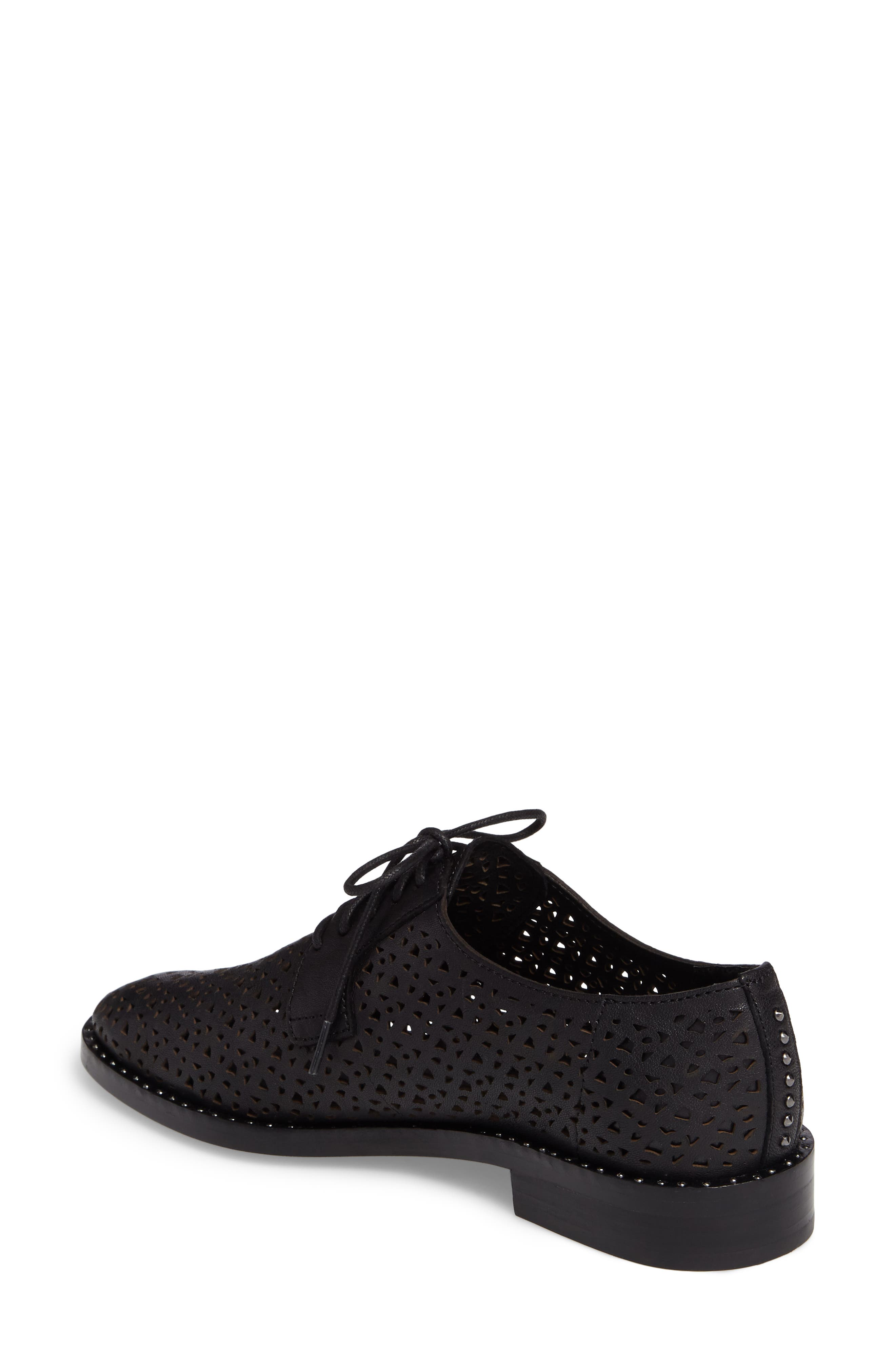 Lesta Geo Perforated Oxford,                             Alternate thumbnail 7, color,