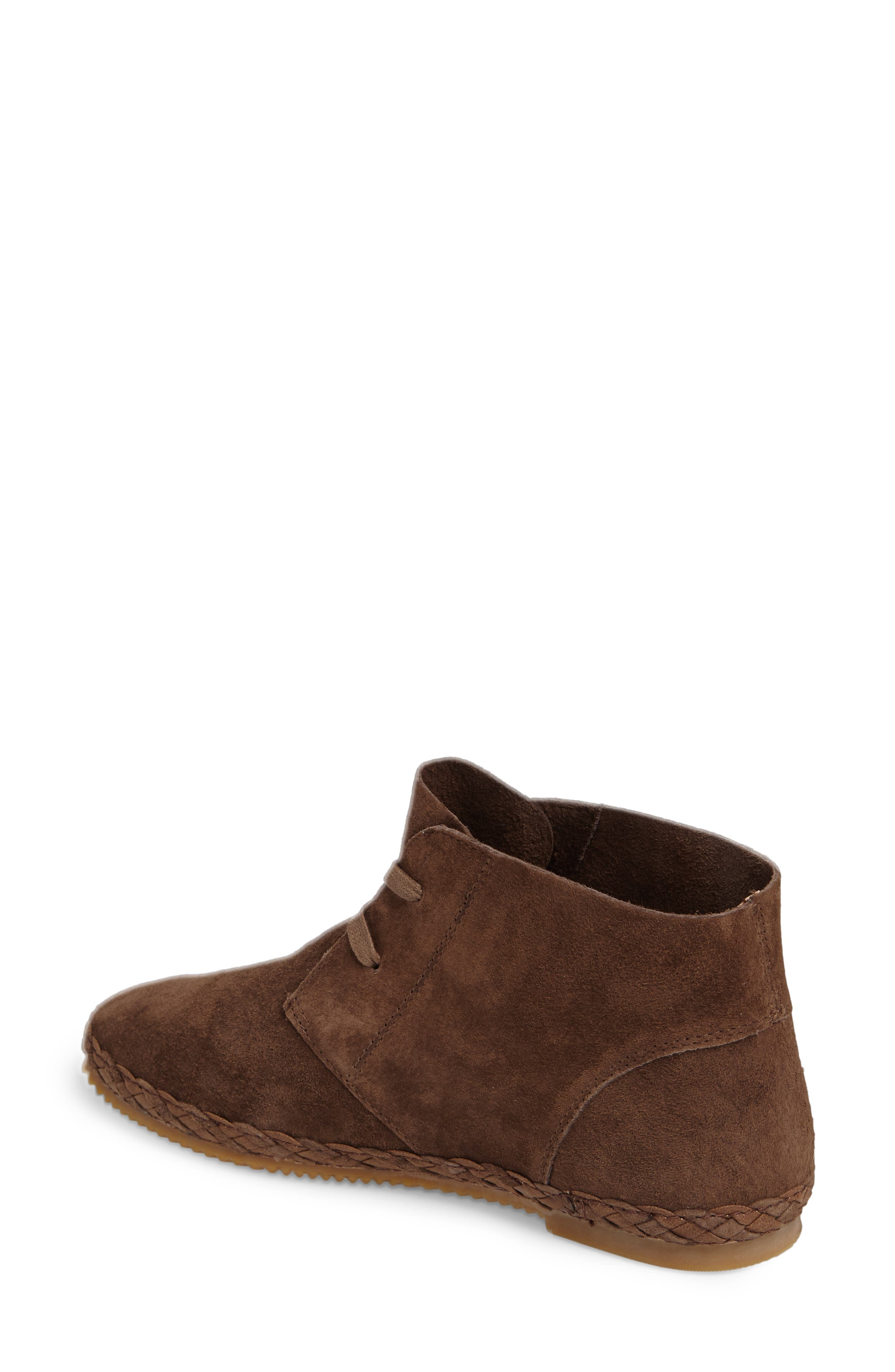 Addison Bootie,                             Alternate thumbnail 2, color,                             BROWN SUEDE