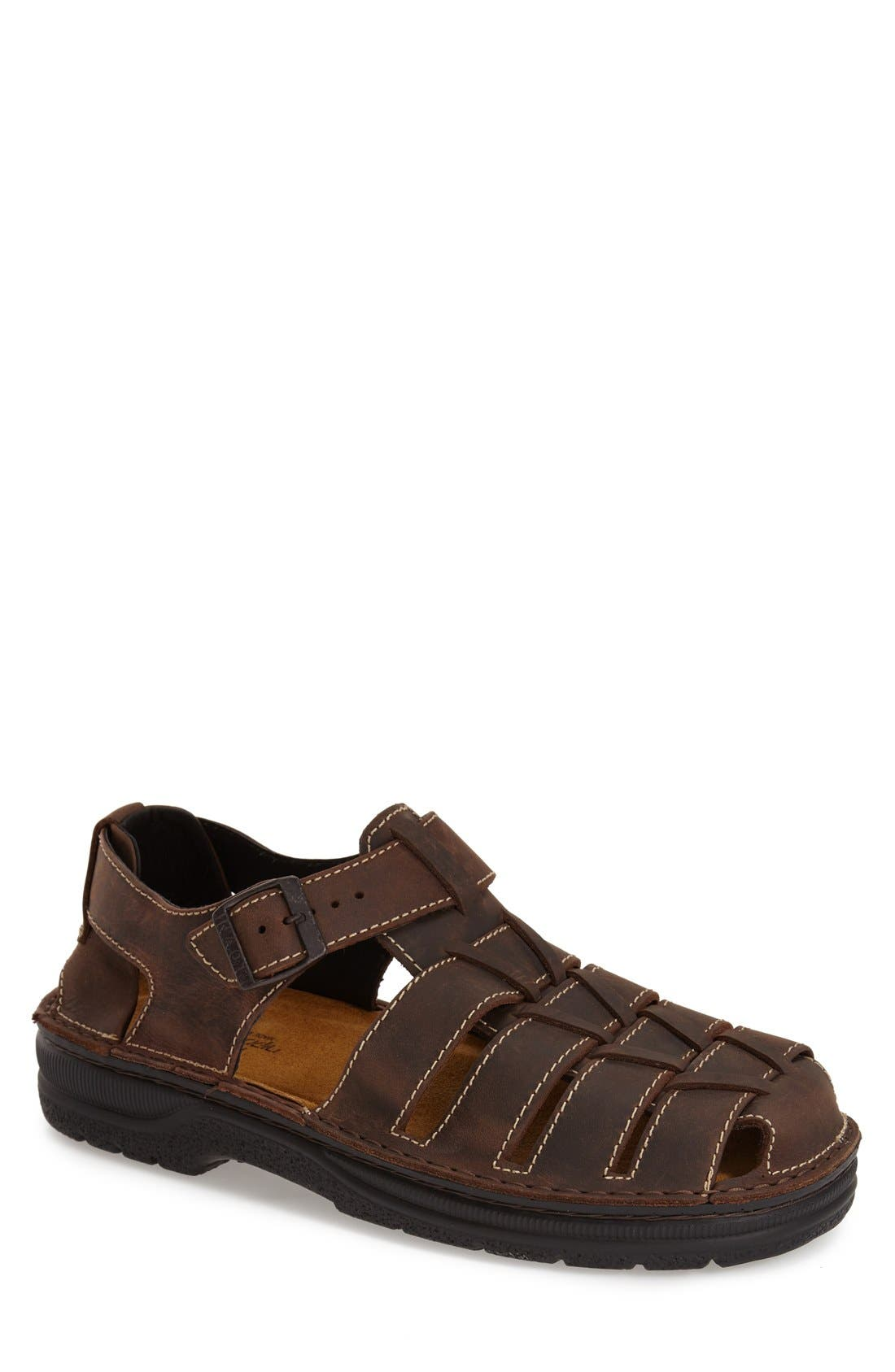 Julius Fisherman Sandal,                         Main,                         color,