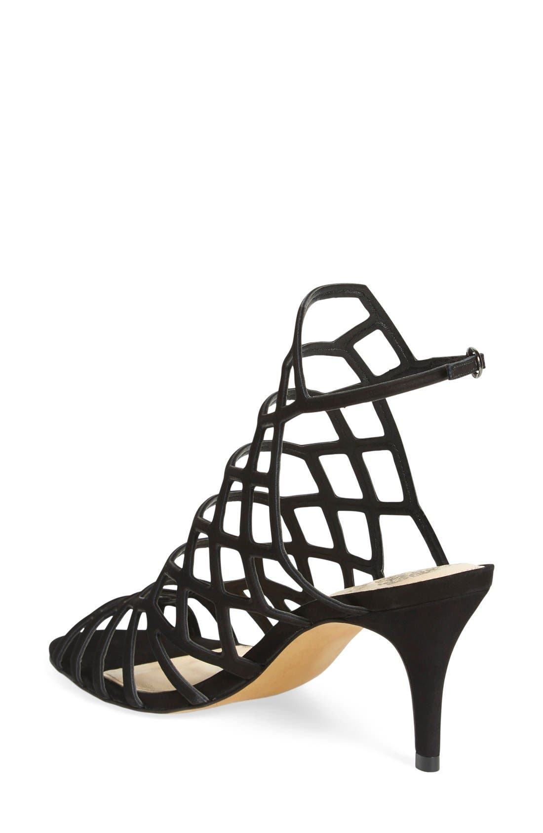 'Paxton' Slingback Sandal,                             Alternate thumbnail 3, color,                             001