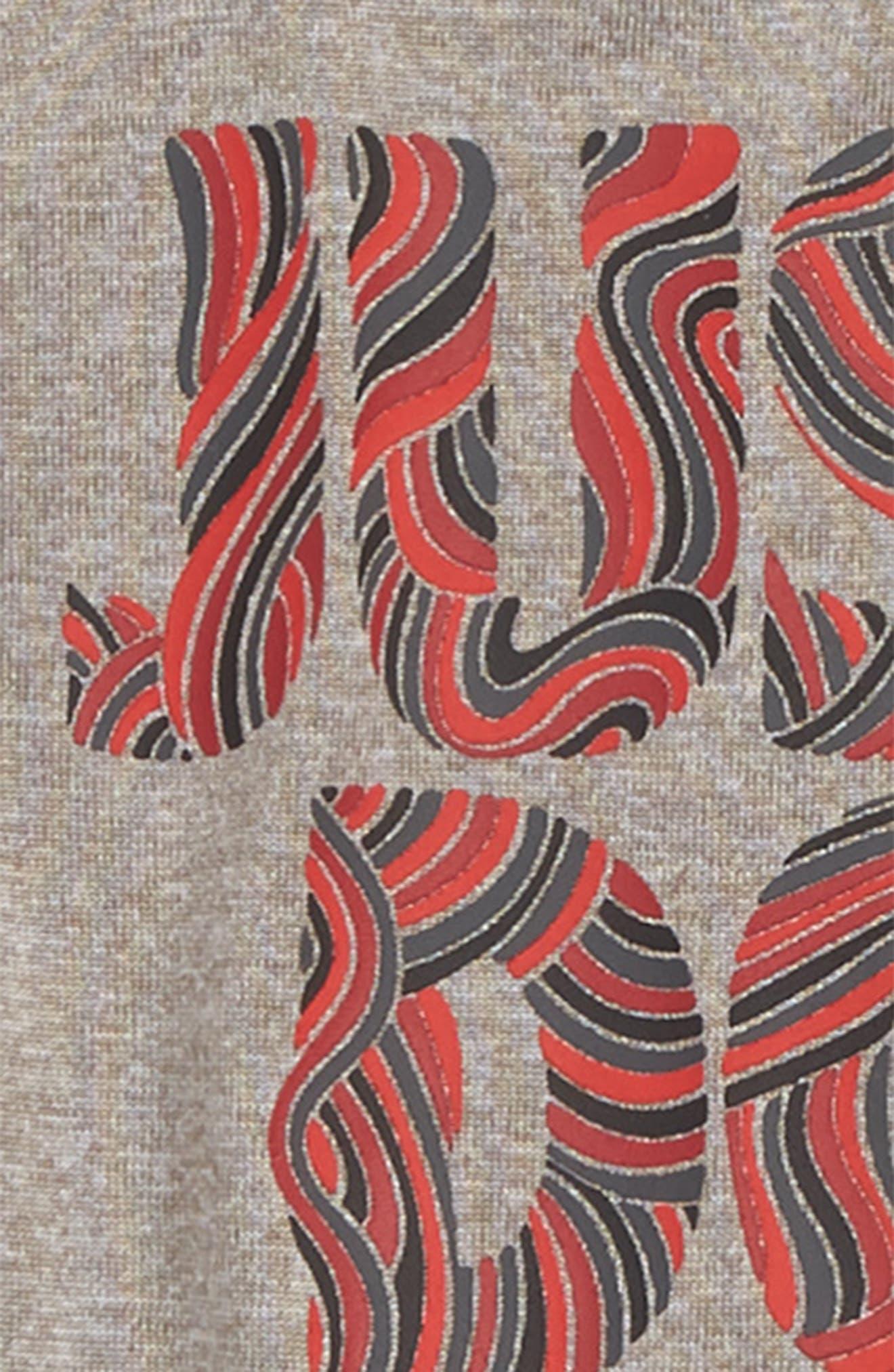 Doodle JDI Graphic Tank & Knit Shorts Set,                             Alternate thumbnail 2, color,                             088