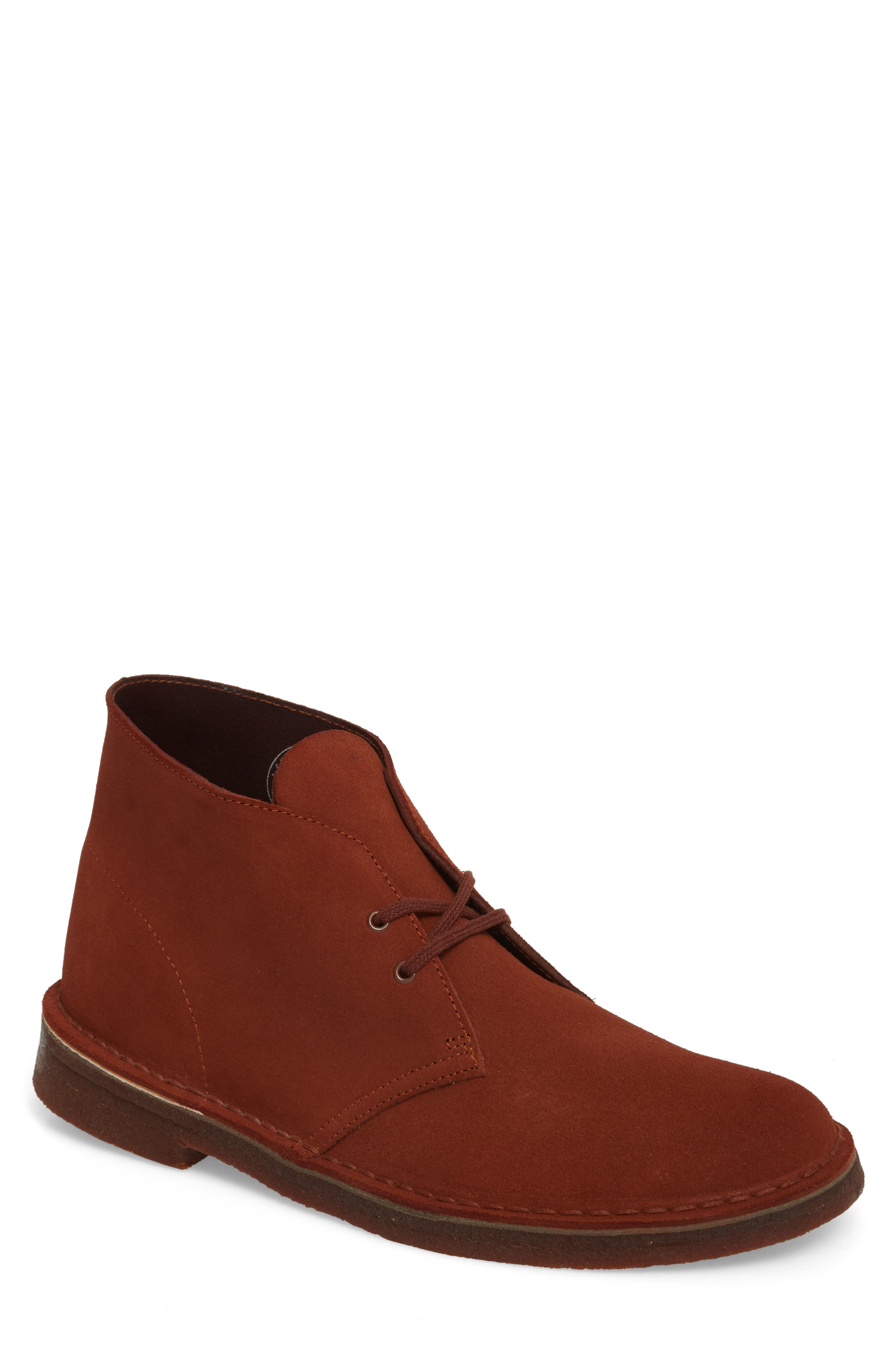 Clarks<sup>®</sup> Desert Boot,                             Main thumbnail 1, color,                             MAHOGANY LEATHER