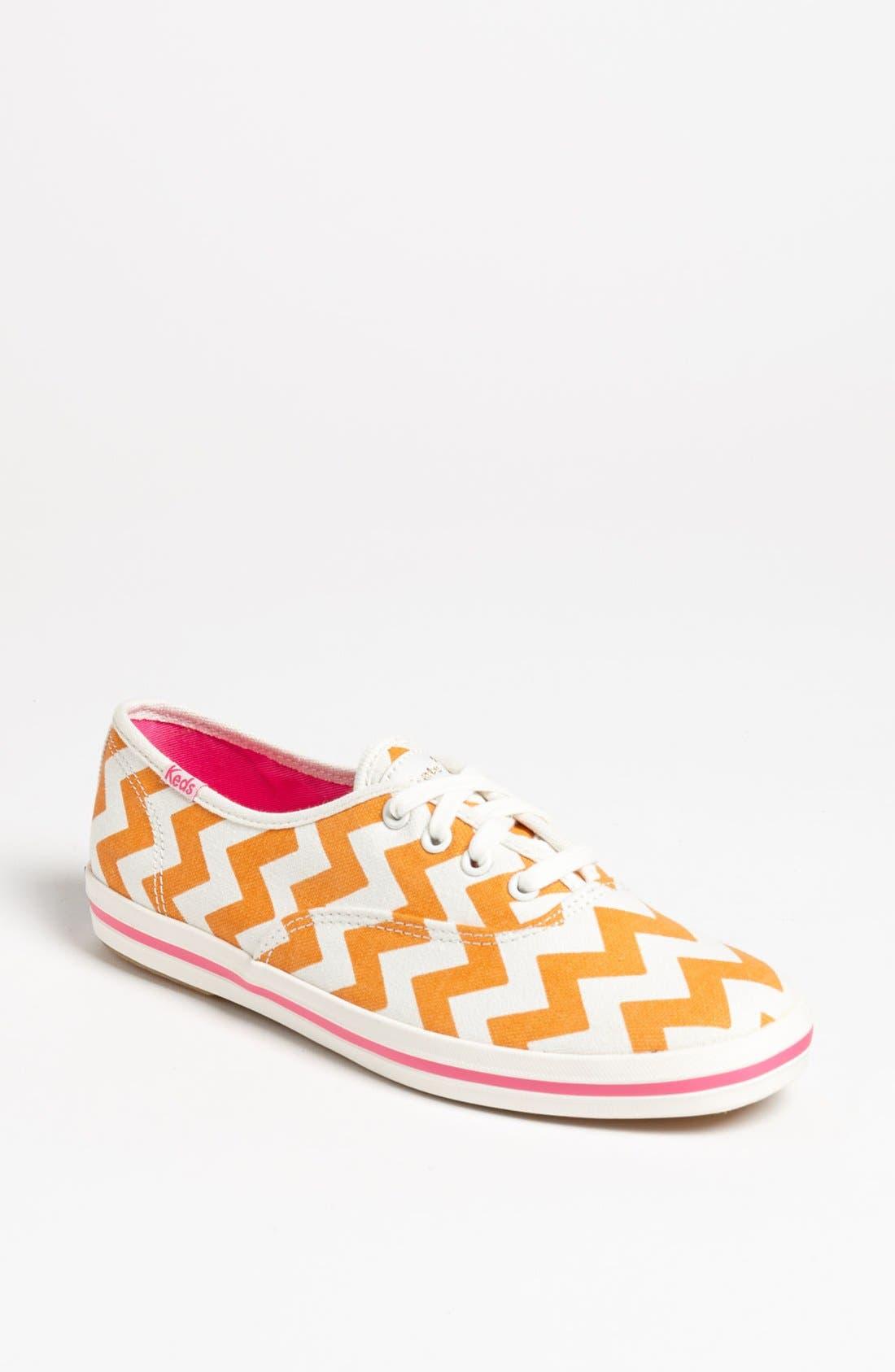 Keds<sup>®</sup> for kate spade new york 'kick' sneaker,                             Main thumbnail 4, color,