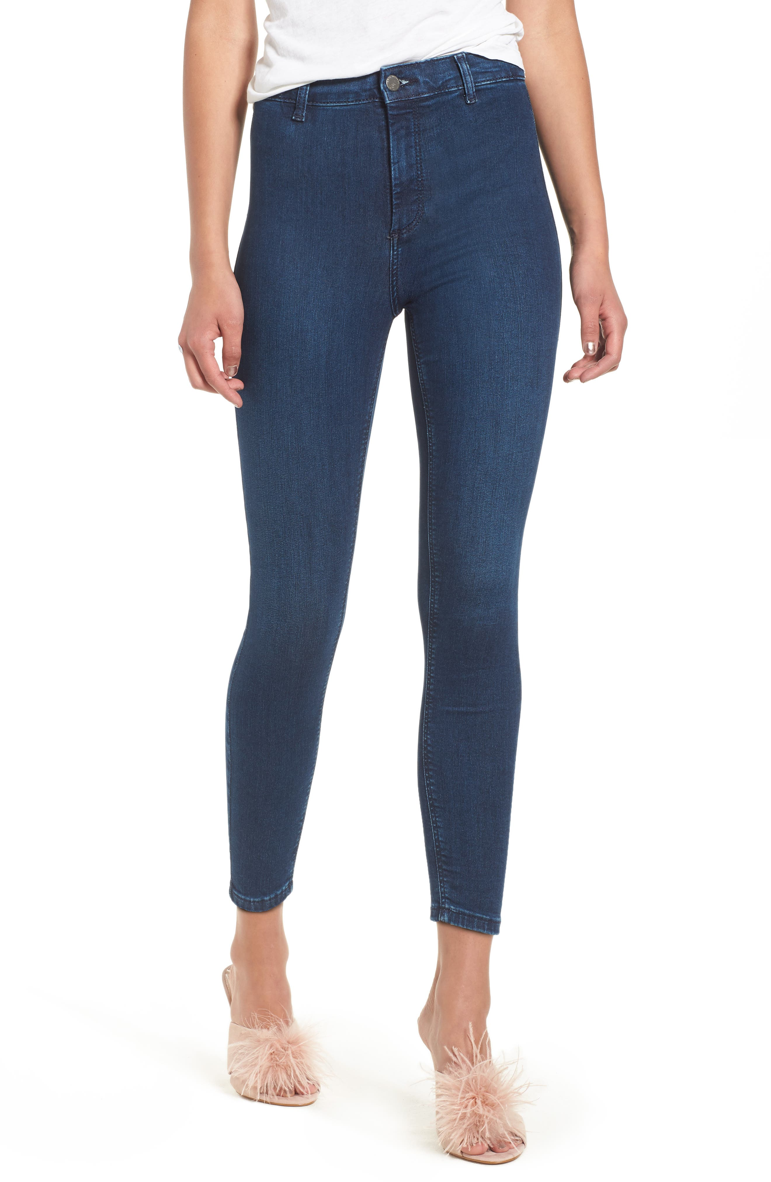 Moto Joni Indigo Jeans,                         Main,                         color, 400