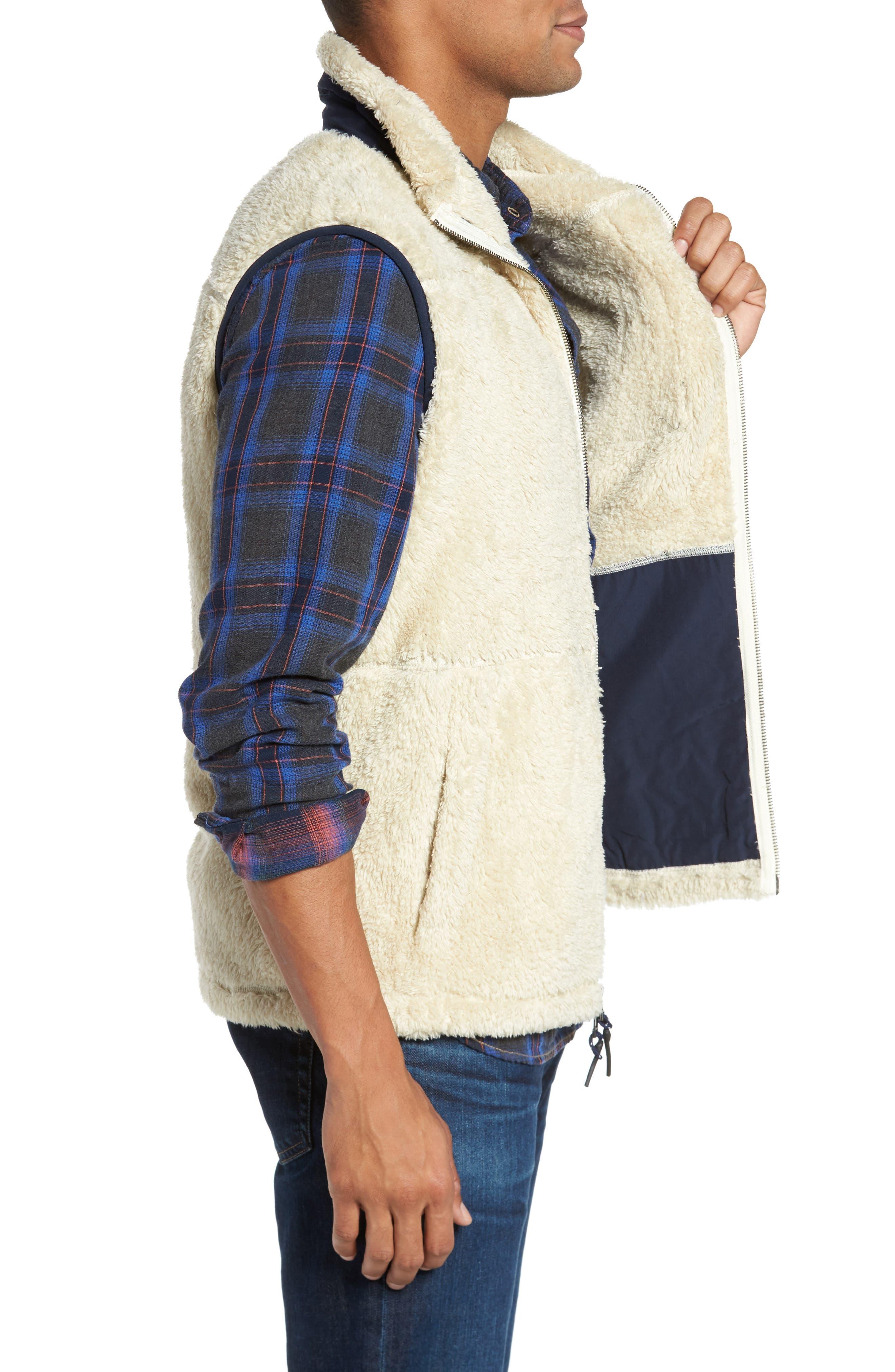 Colorblock Fleece Vest,                             Alternate thumbnail 3, color,                             103