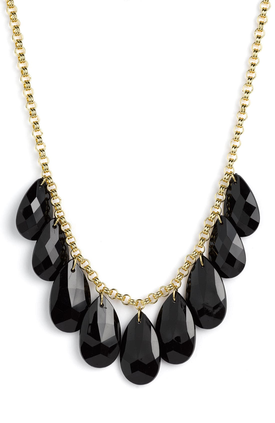 'cascade' short necklace, Main, color, 008