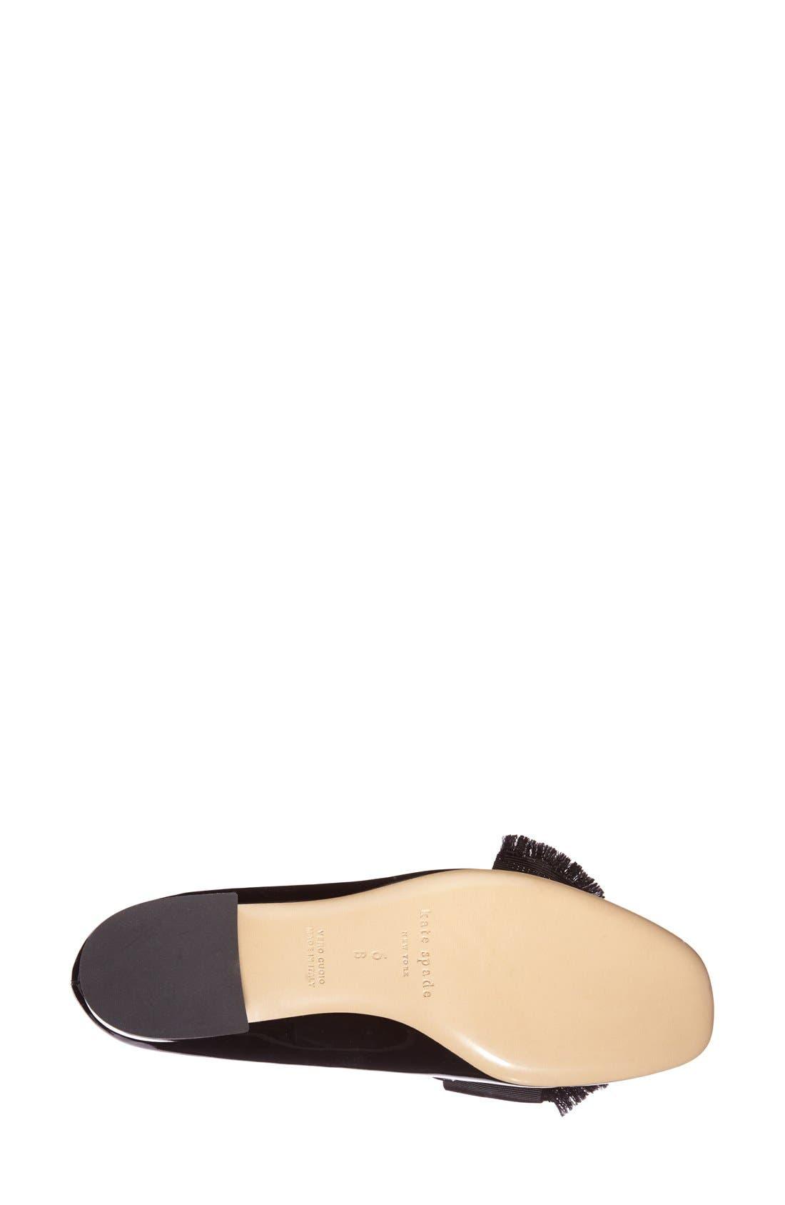 KATE SPADE NEW YORK,                             'gino' loafer,                             Alternate thumbnail 2, color,                             002