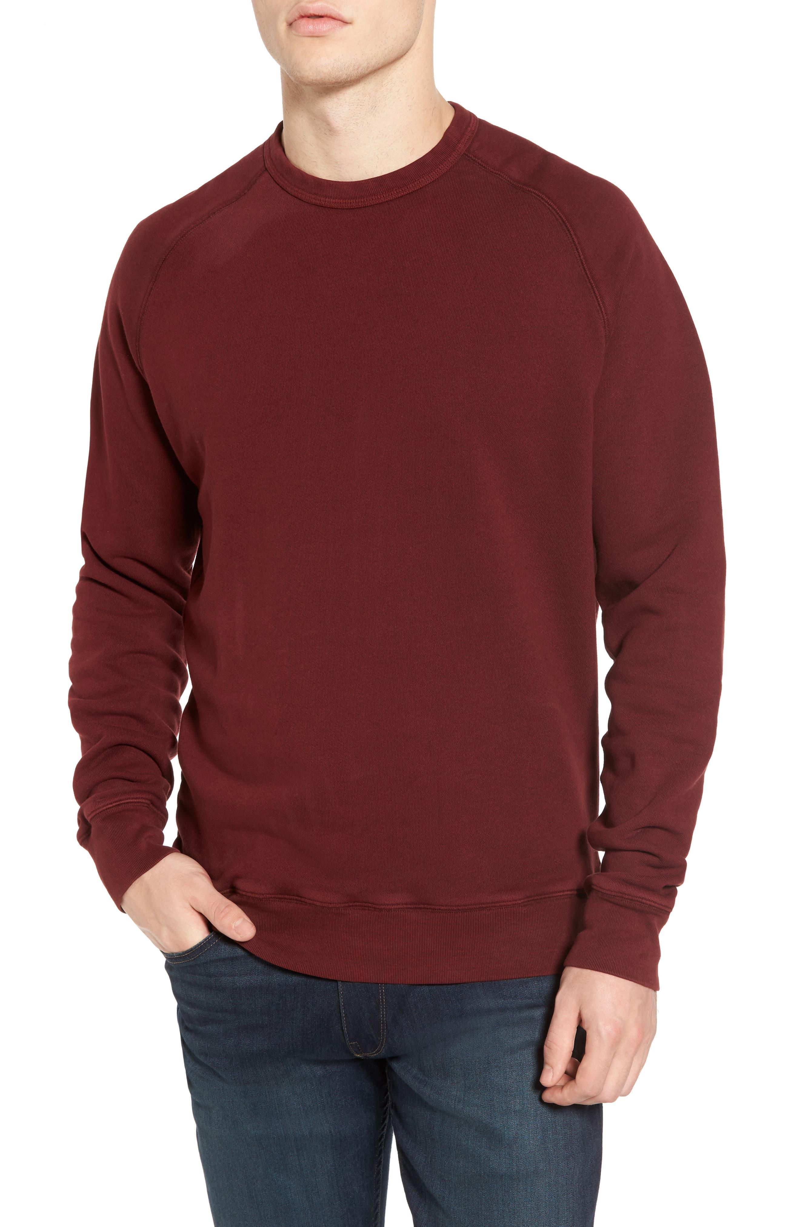 South Sea Raglan Sweatshirt,                             Main thumbnail 3, color,
