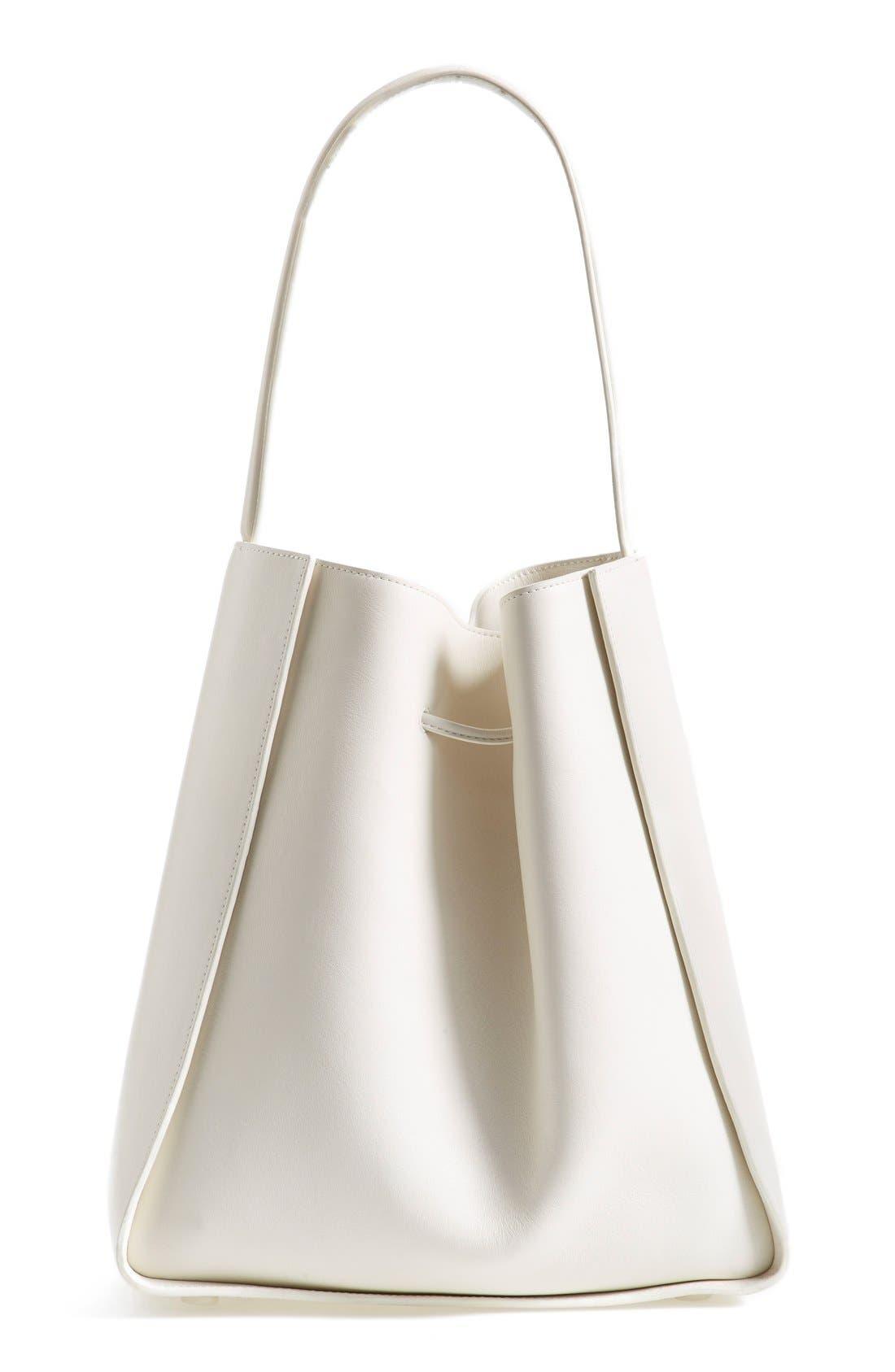 'Large Soleil' Leather Bucket Bag,                             Alternate thumbnail 10, color,