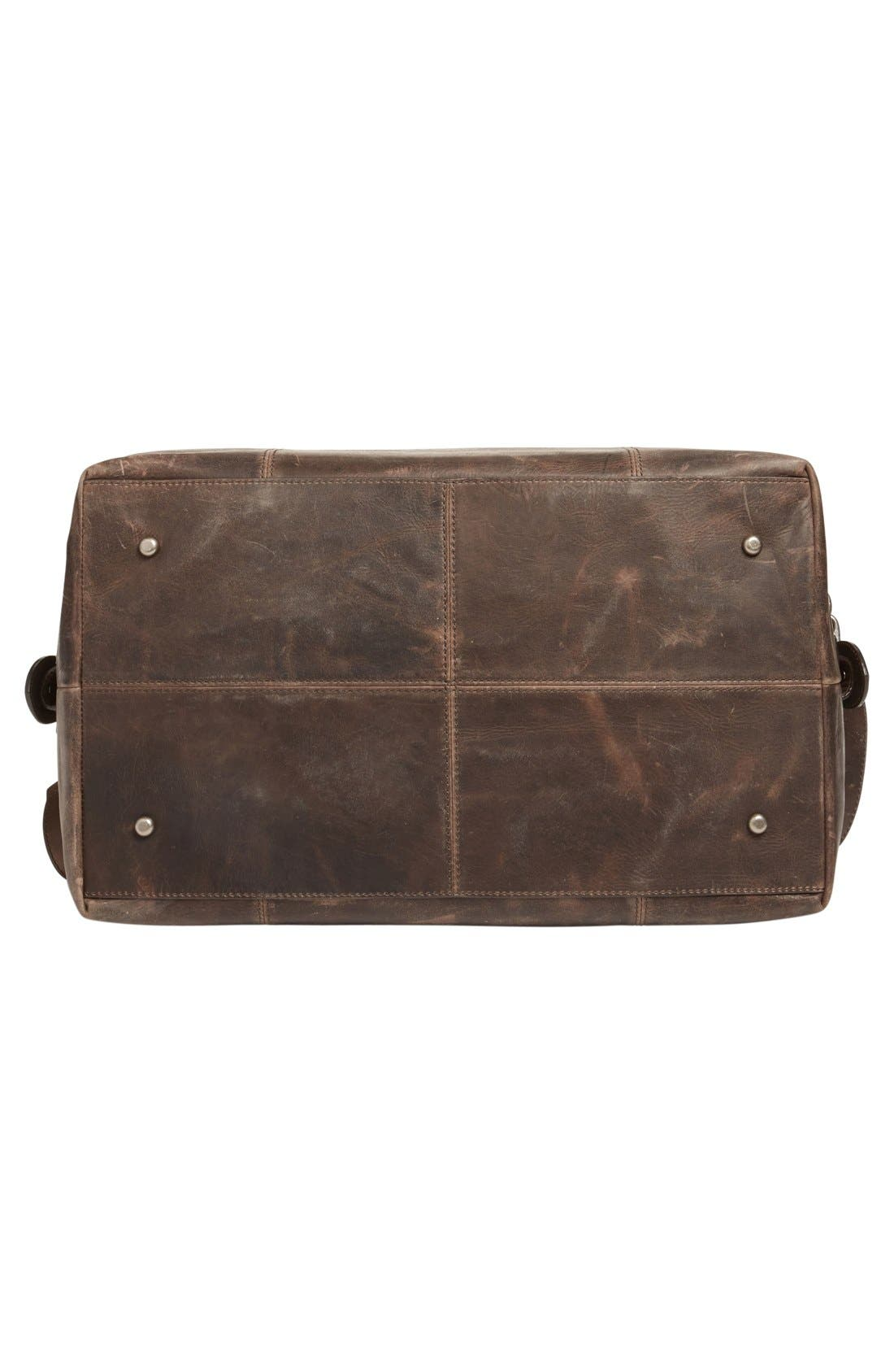 'Logan' Leather Overnight Bag,                             Alternate thumbnail 22, color,