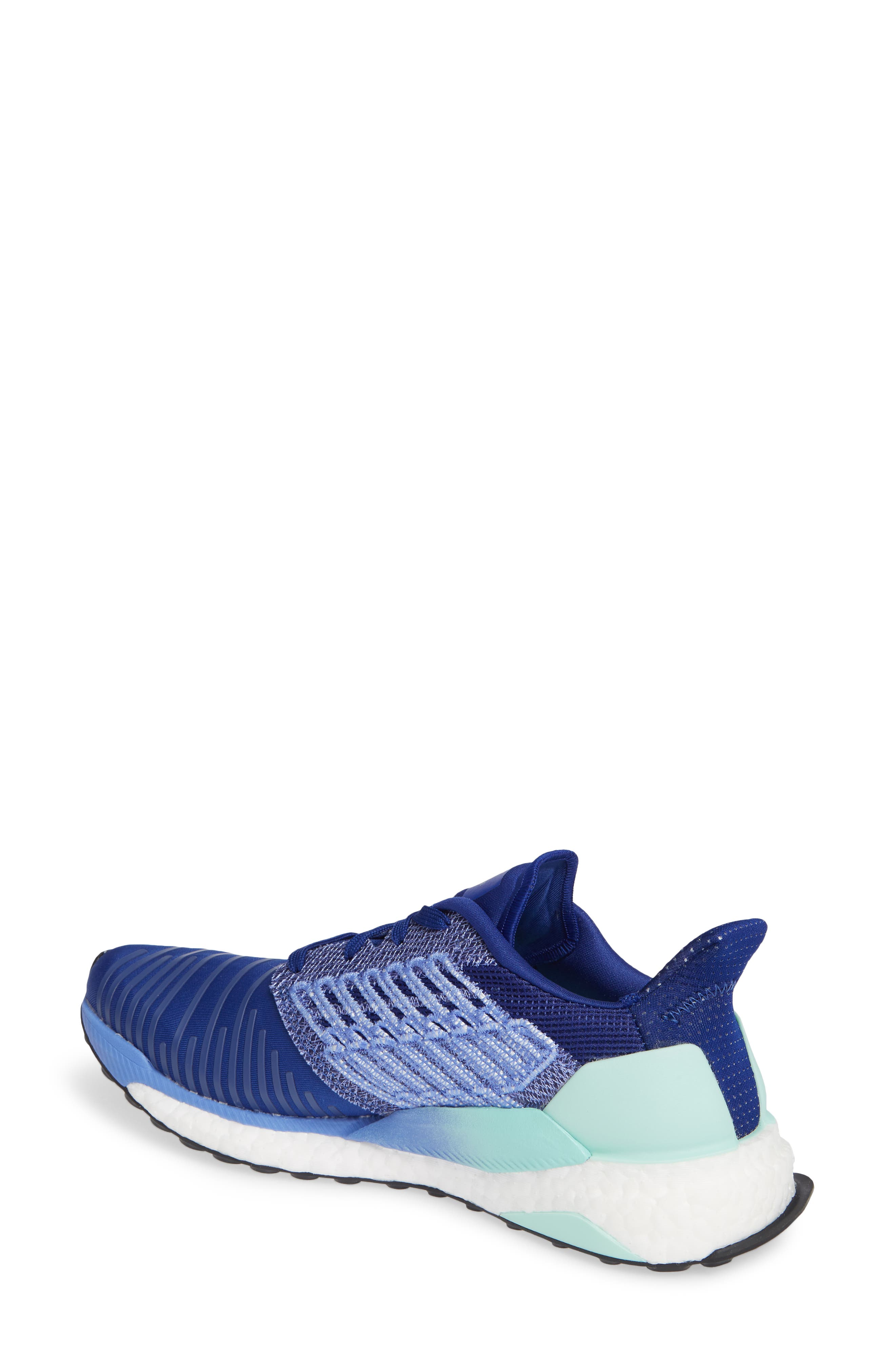 Solarboost Running Shoe,                             Alternate thumbnail 2, color,                             MYSTERY INK/ CLEAR MINT/ LILAC