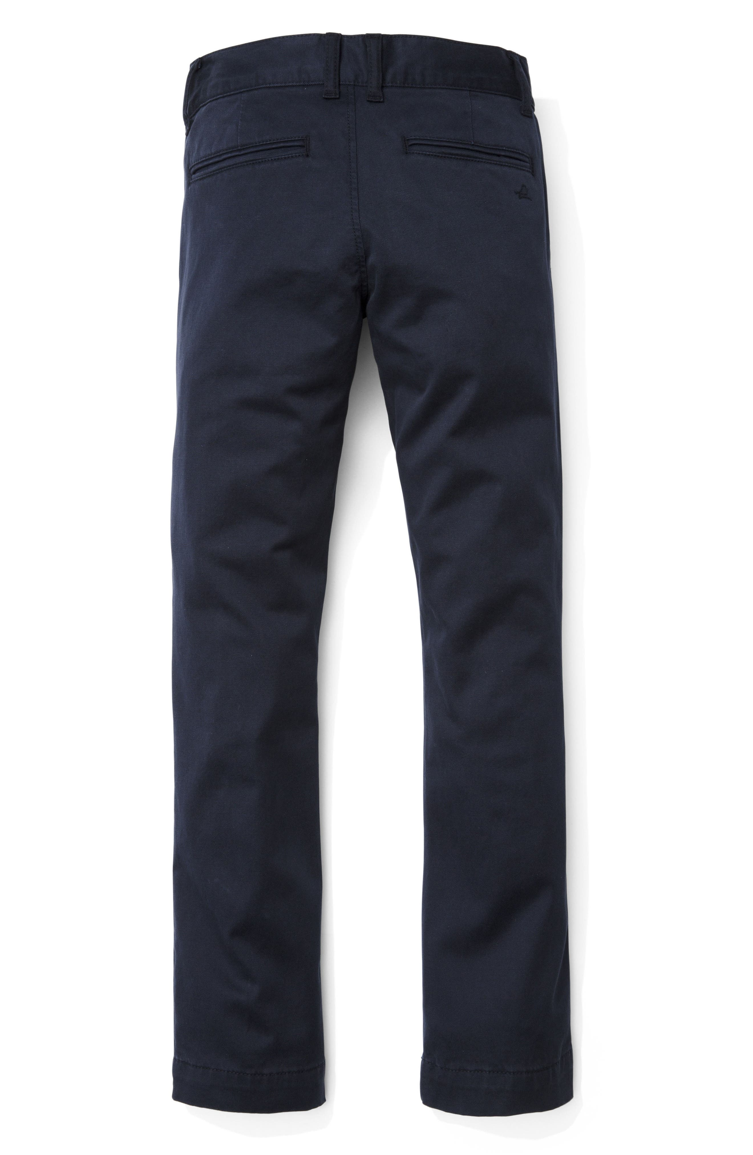 Timmy Slim Fit Chinos,                             Alternate thumbnail 2, color,                             HAMMOND