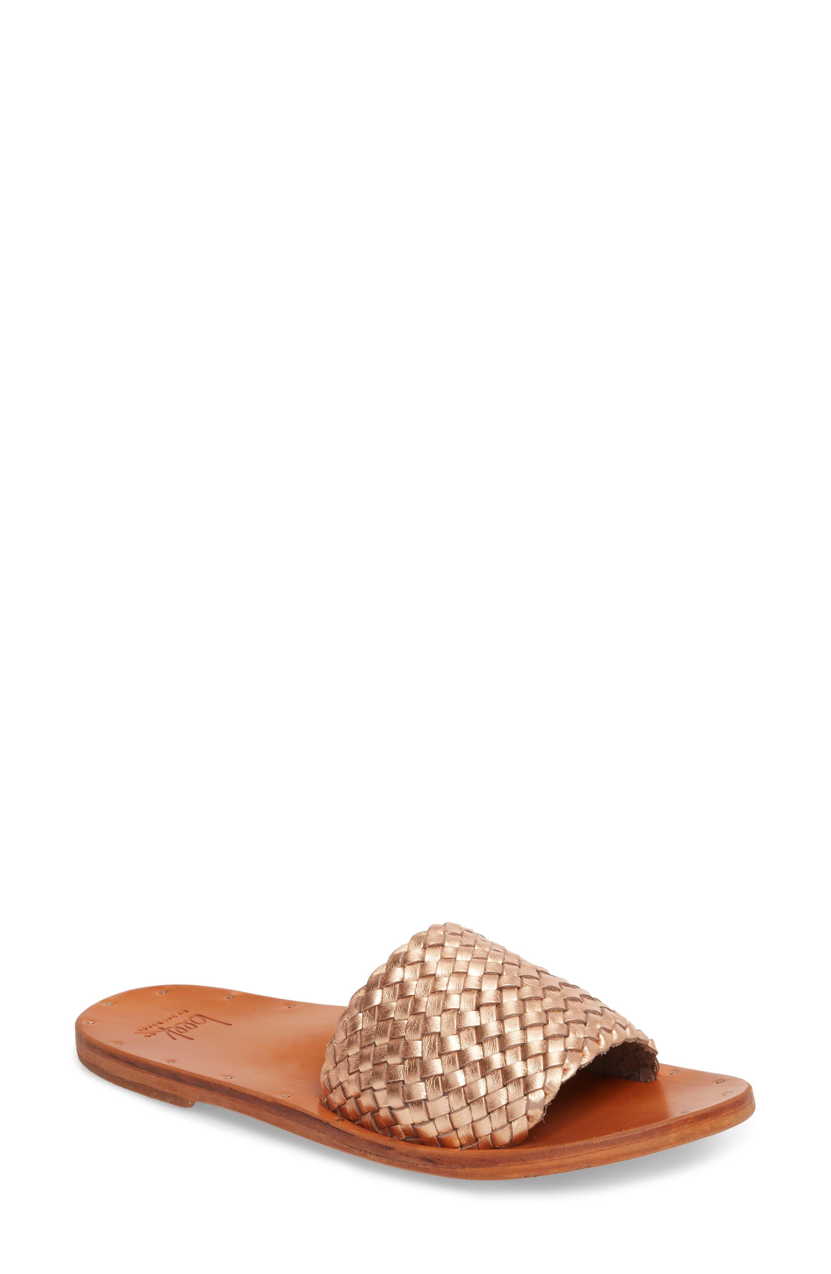 Osprey Woven Slide Sandal,                         Main,                         color, 710