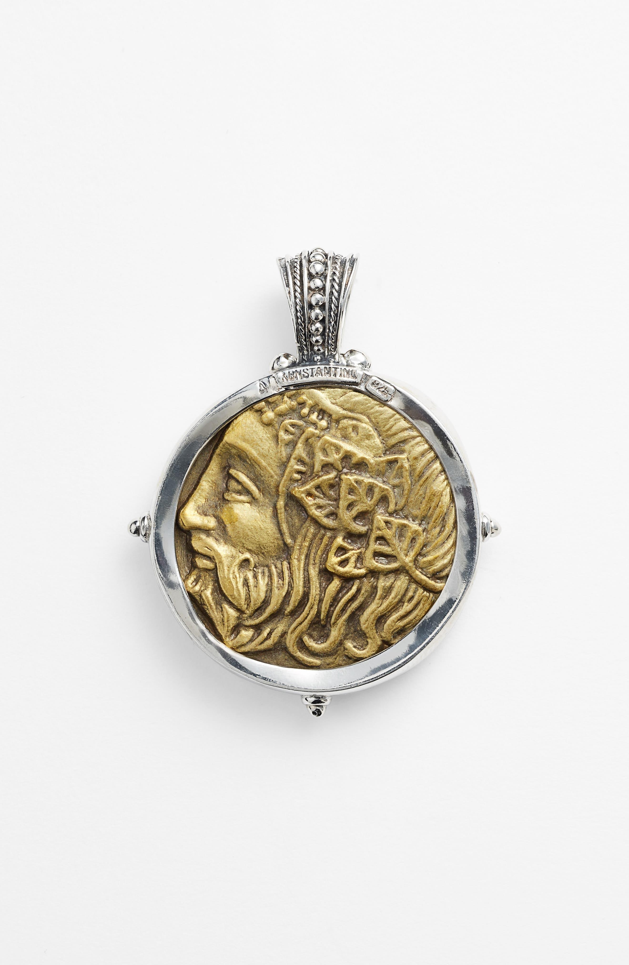 'Byzantium - Hercules' Pendant,                             Alternate thumbnail 2, color,