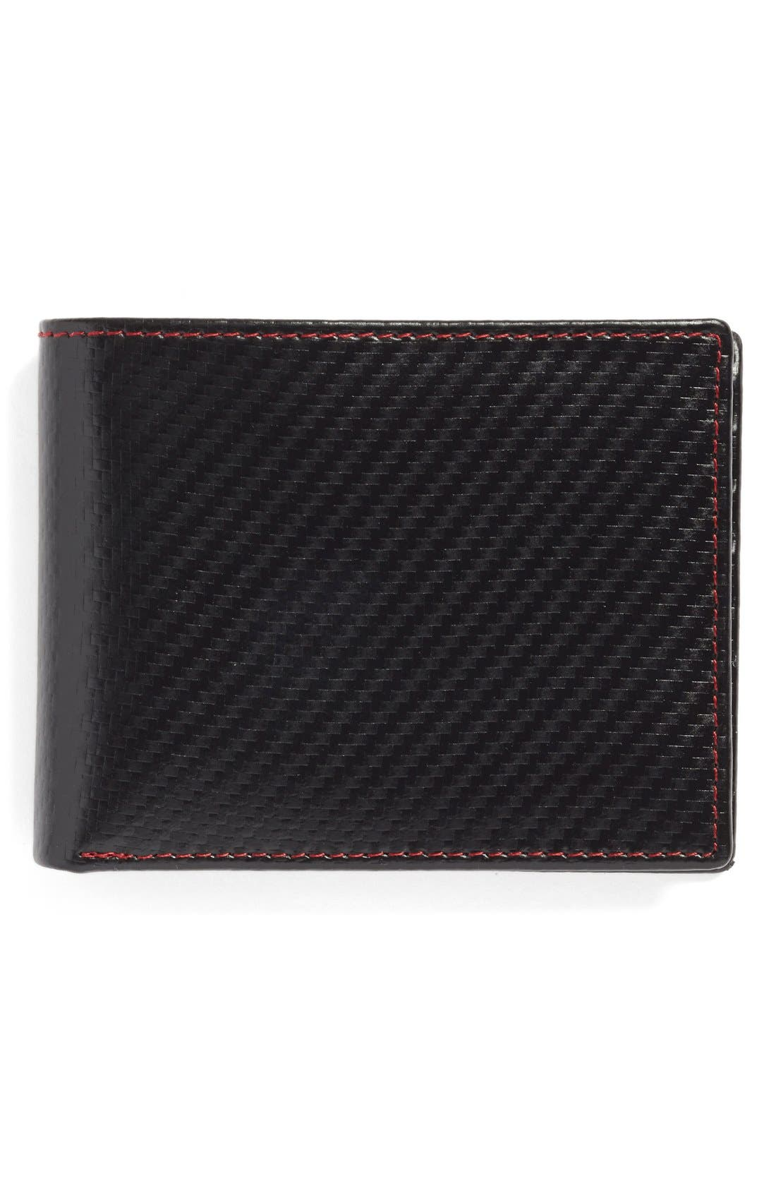 Flip Billfold Wallet,                             Main thumbnail 1, color,                             001