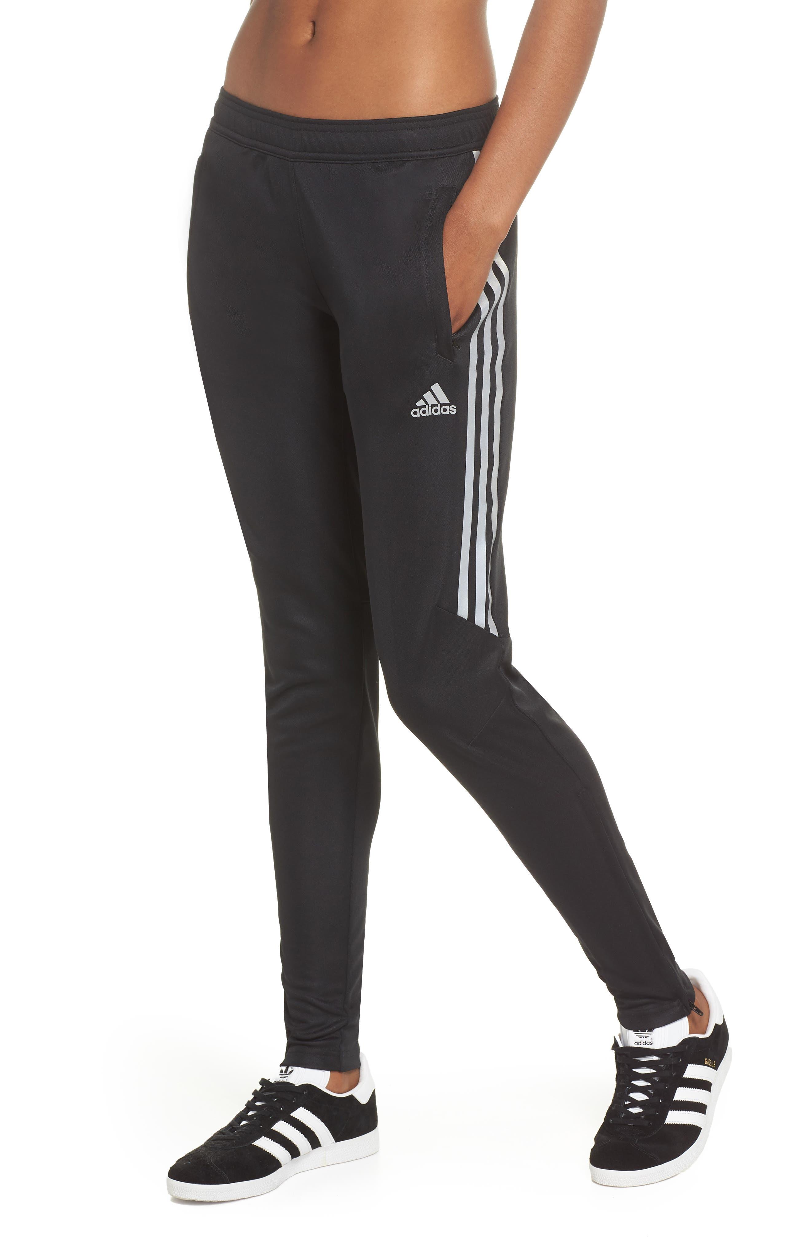 Tiro 17 Training Pants,                         Main,                         color, BLACK/ REFLECTIVE SILVER