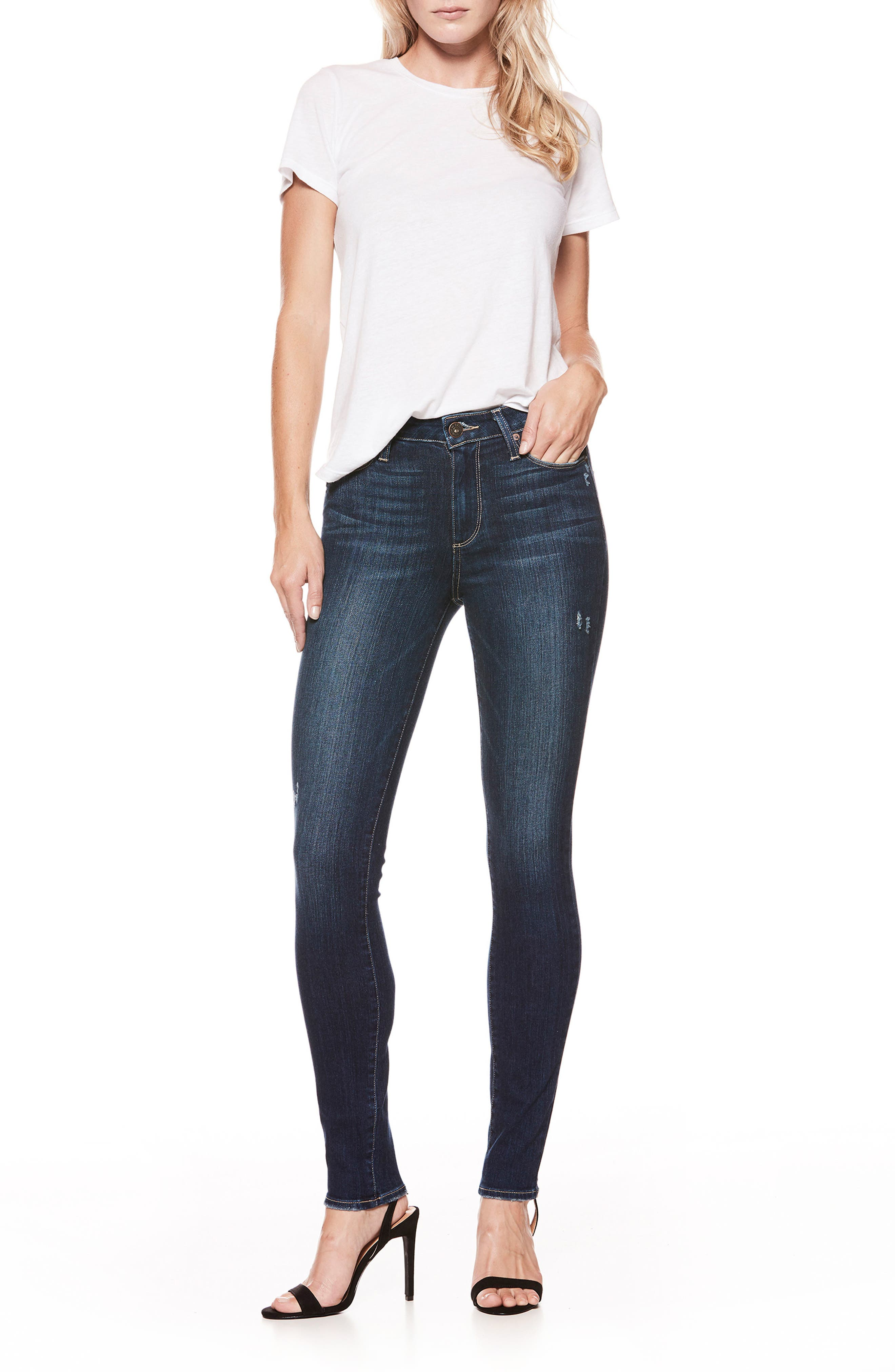 Hoxton High Waist Skinny Jeans,                         Main,                         color, 400