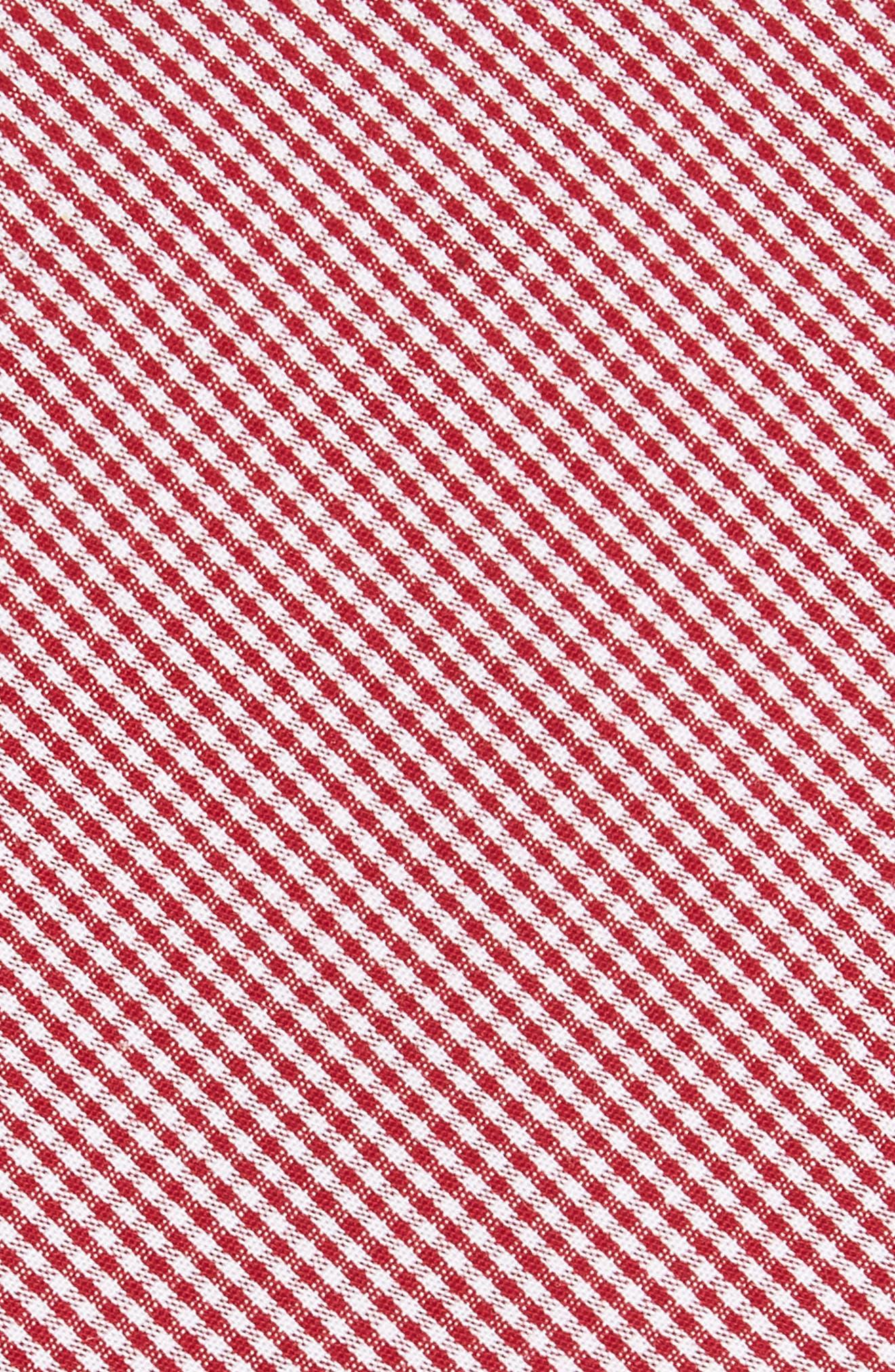 Check Cotton Tie,                             Alternate thumbnail 21, color,