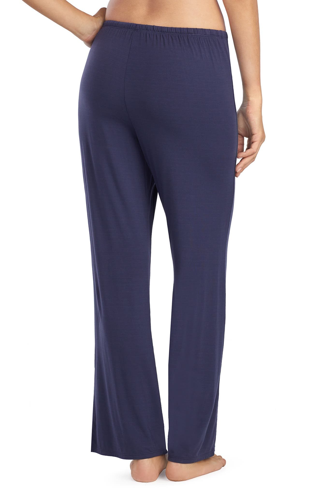 LAUREN RALPH LAUREN,                             Pajama Pants,                             Alternate thumbnail 2, color,                             NAVY