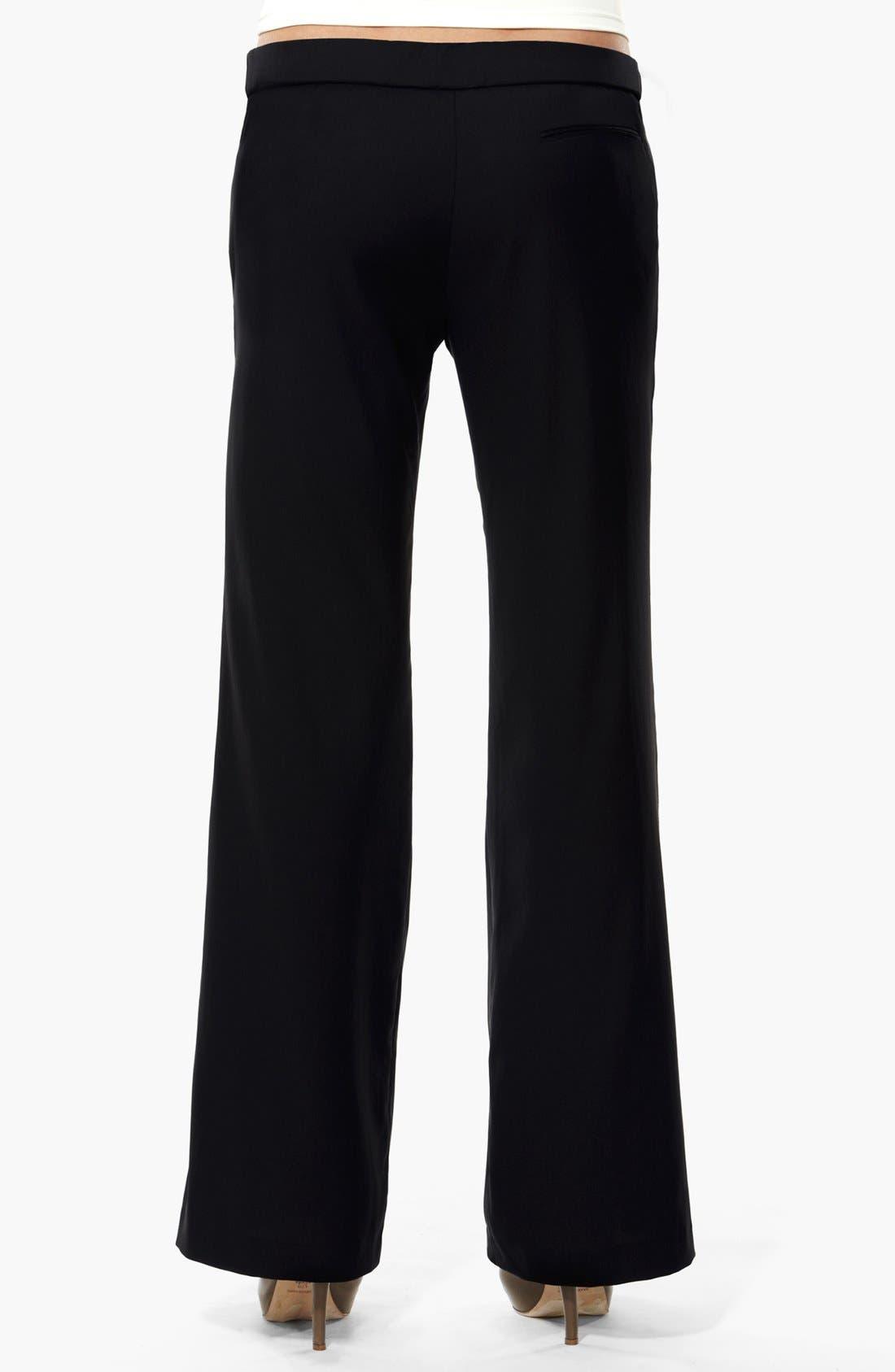 London 'Morgan' Tailored Maternity Pants,                             Alternate thumbnail 2, color,                             001
