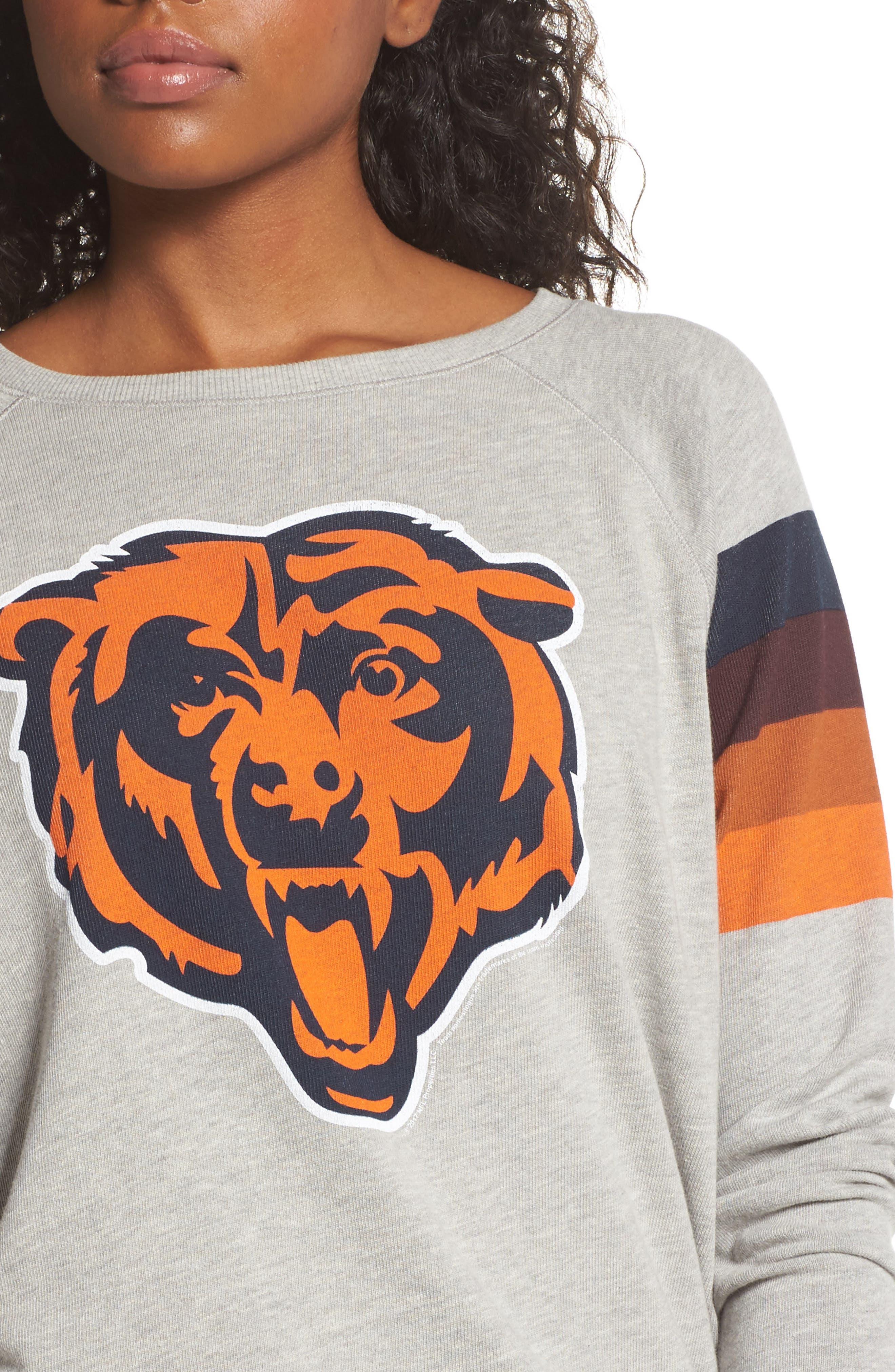 NFL Chicago Bears Hacci Sweatshirt,                             Alternate thumbnail 4, color,                             030