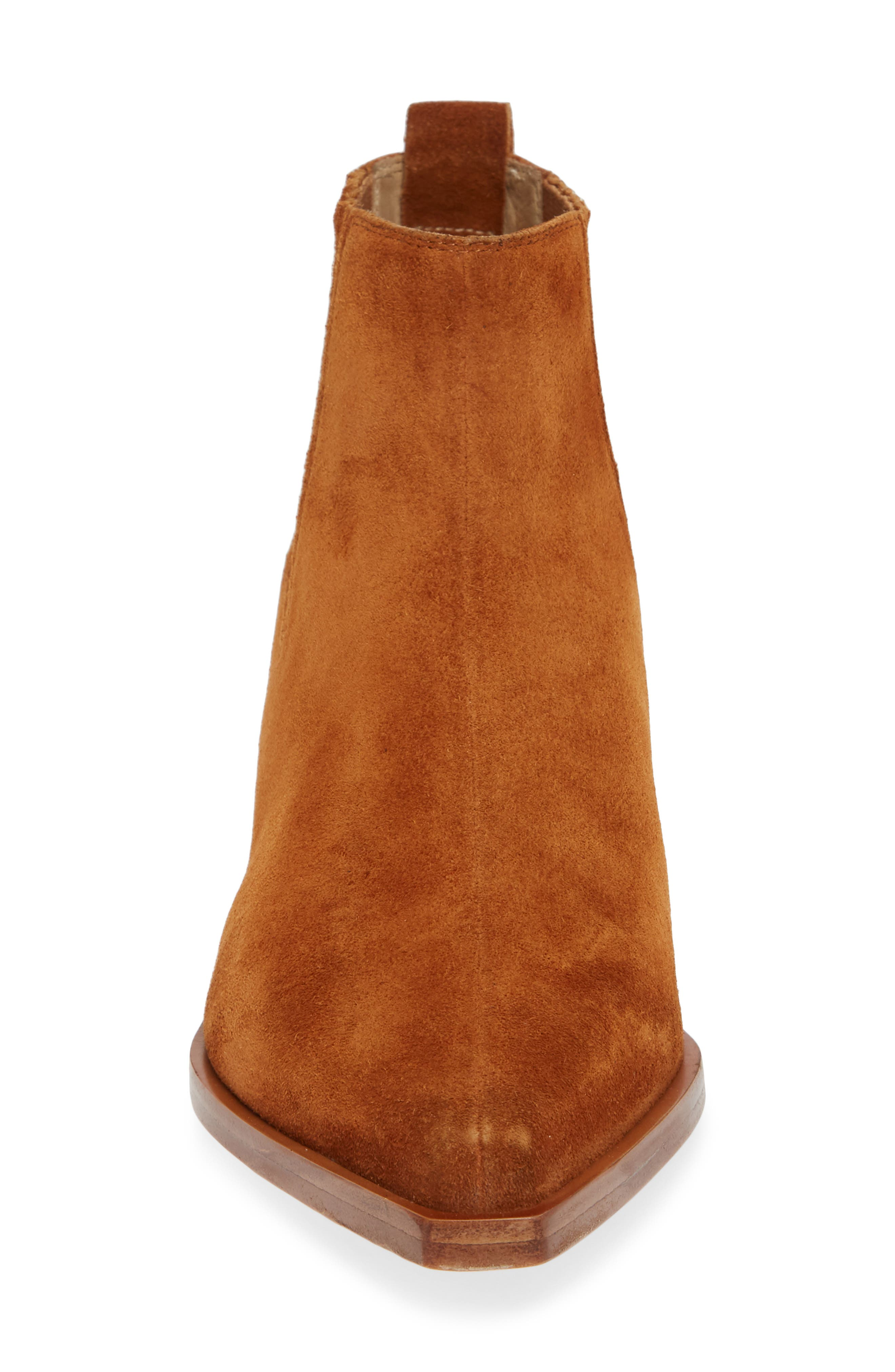 Westin Bootie,                             Alternate thumbnail 4, color,                             TAN SUEDE