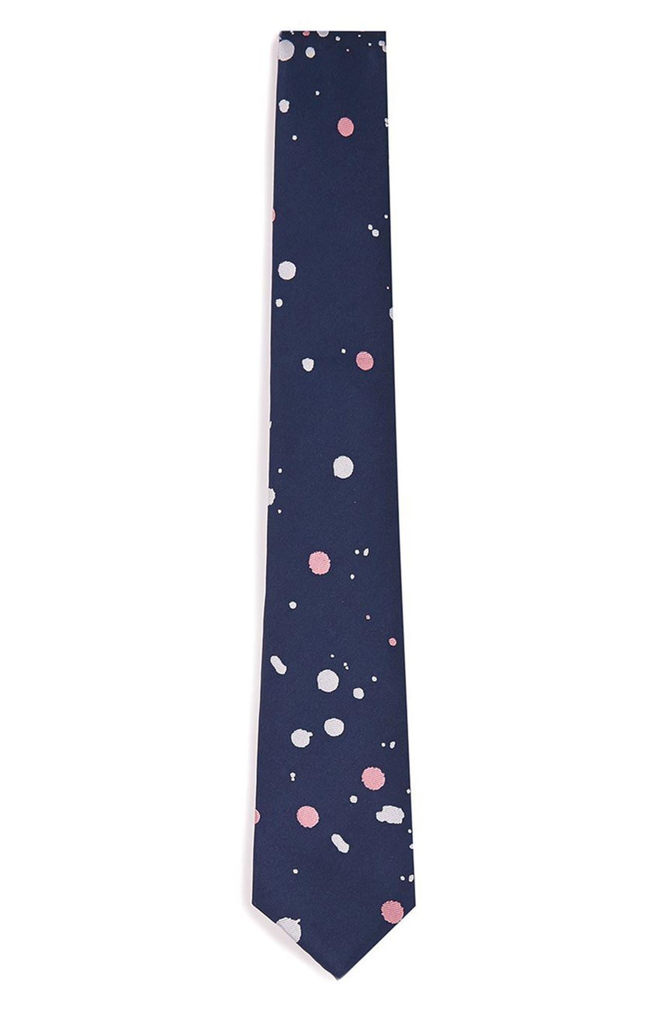 Paint Splatter Tie,                             Main thumbnail 1, color,
