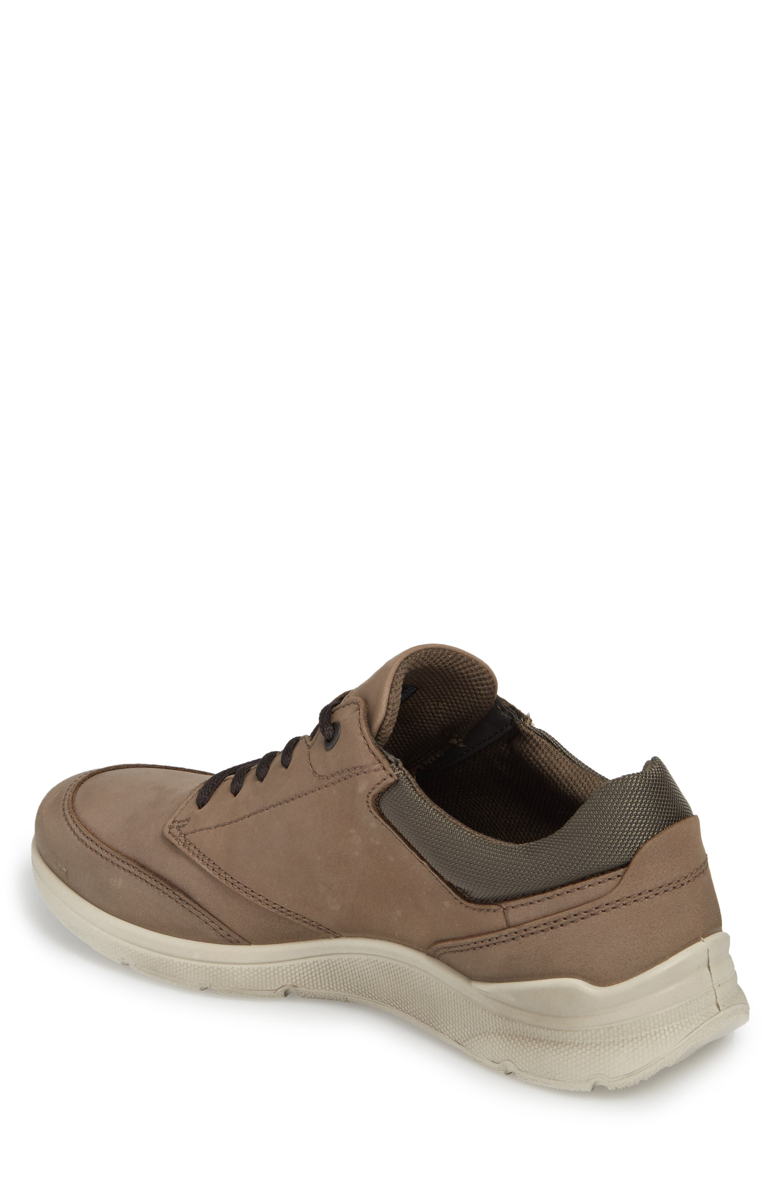 Irving Sneaker,                             Alternate thumbnail 2, color,                             DARK CLAY LEATHER