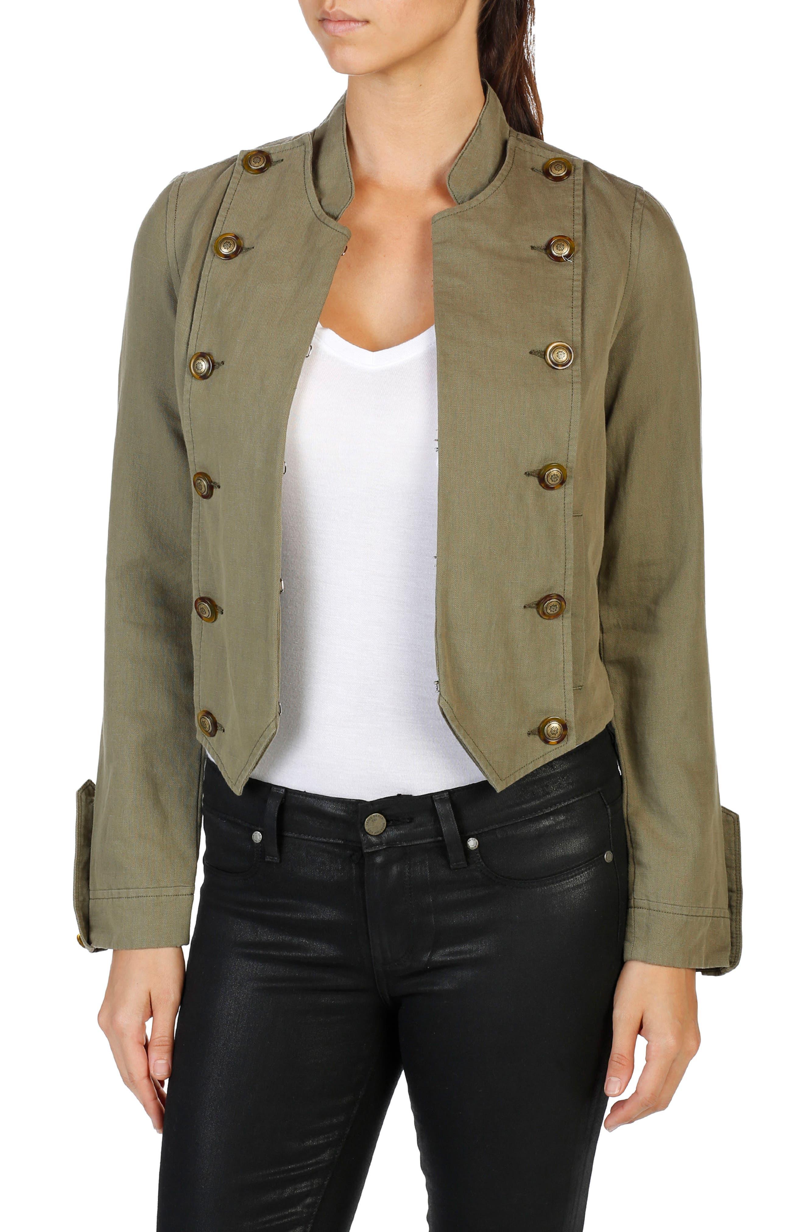 Ashley Military Jacket,                             Main thumbnail 1, color,                             309
