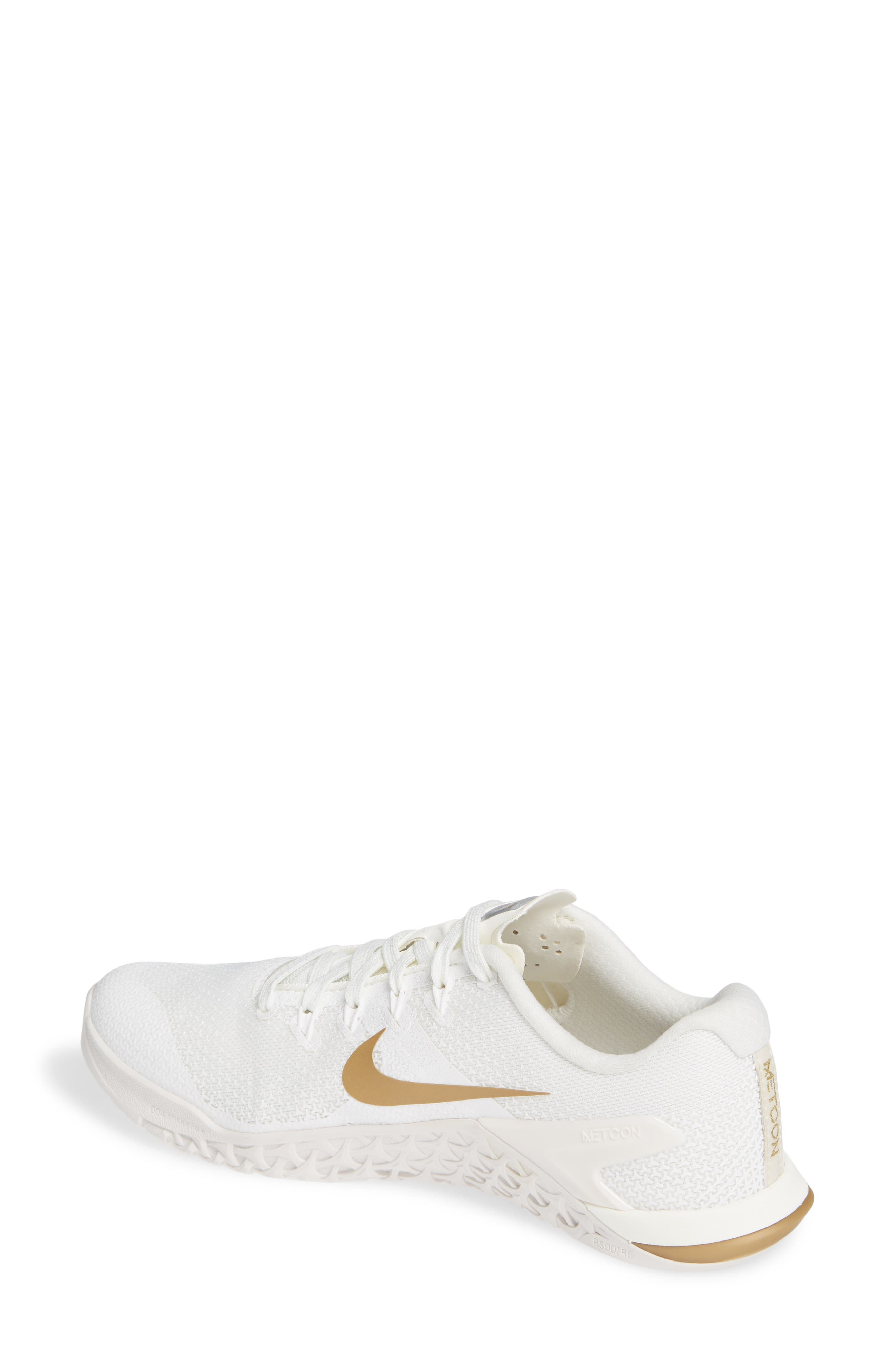 Metcon 4 Training Shoe,                             Alternate thumbnail 2, color,                             CHAMPAGNE