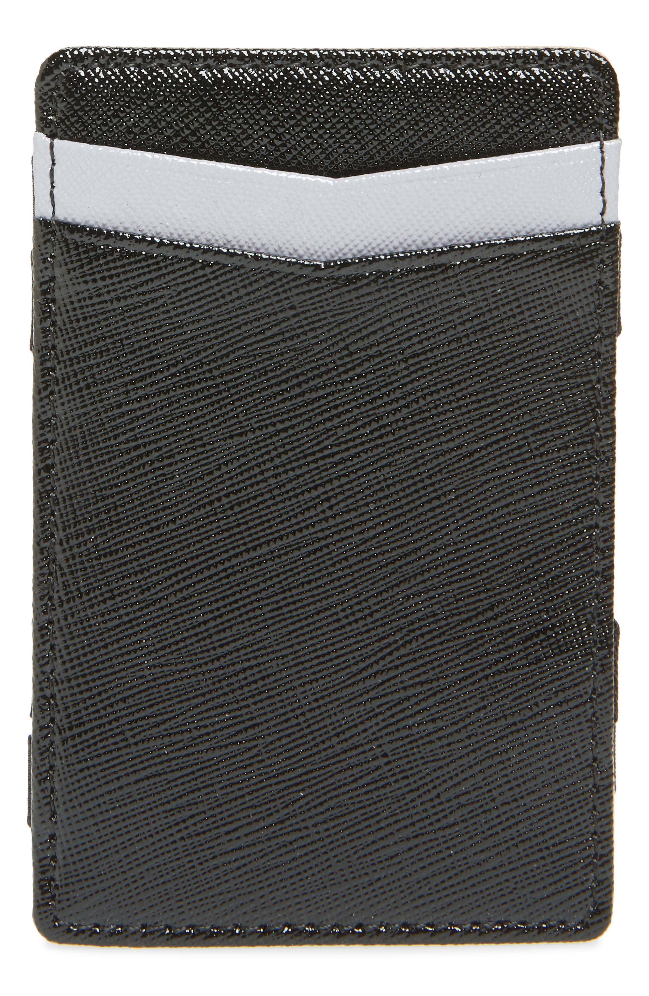 Hannah Magic Wallet,                         Main,                         color, BLACK